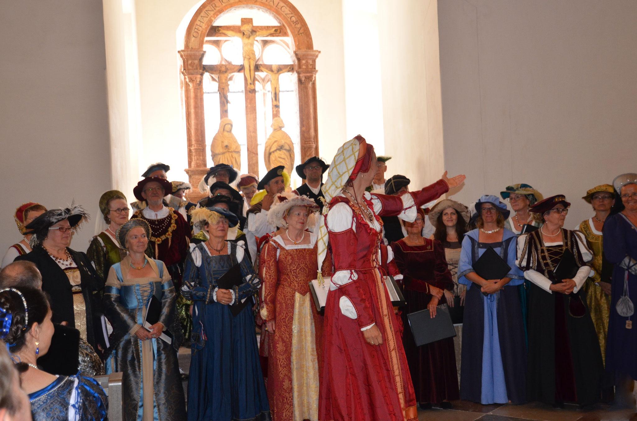 Schlossfest 2019 - Geistliche Matinee in der Schlosskapelle (Foto: Veit Mikyska)