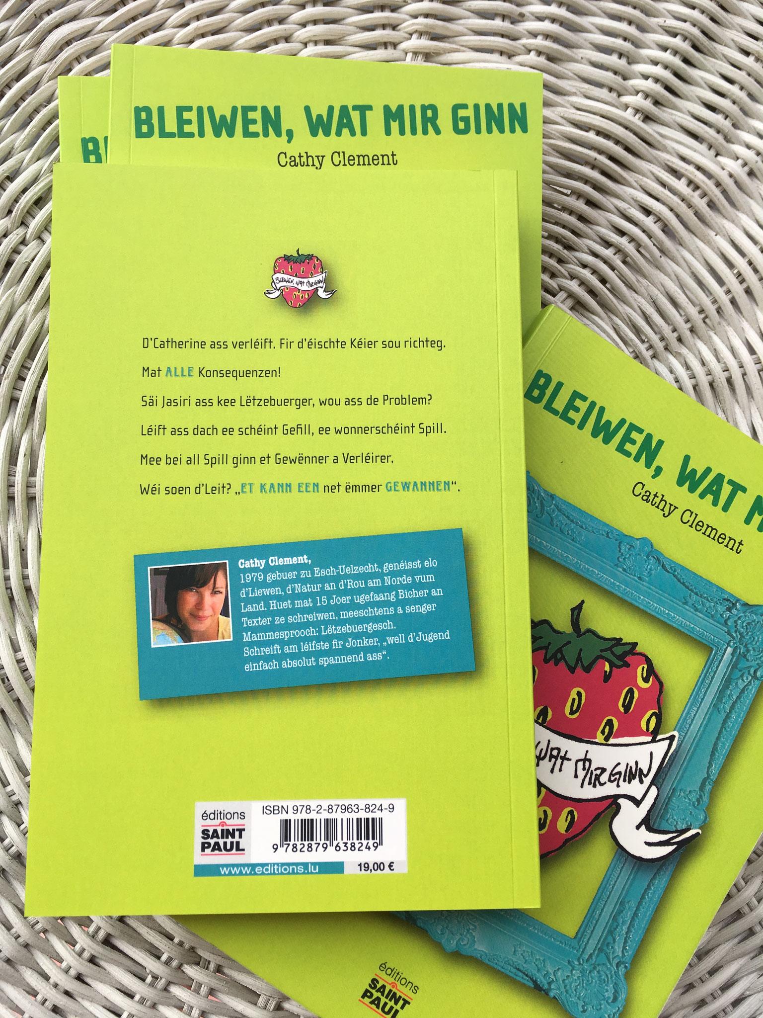 Bleiwen, wat mir ginn - Cathy Clement - Editions St Paul