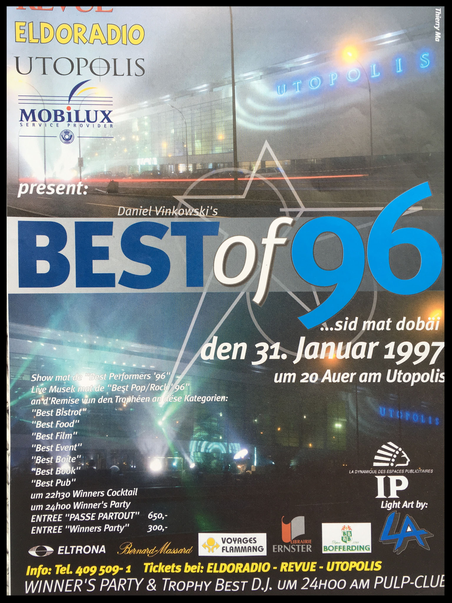 BEST BOOK 1996 - ALENG