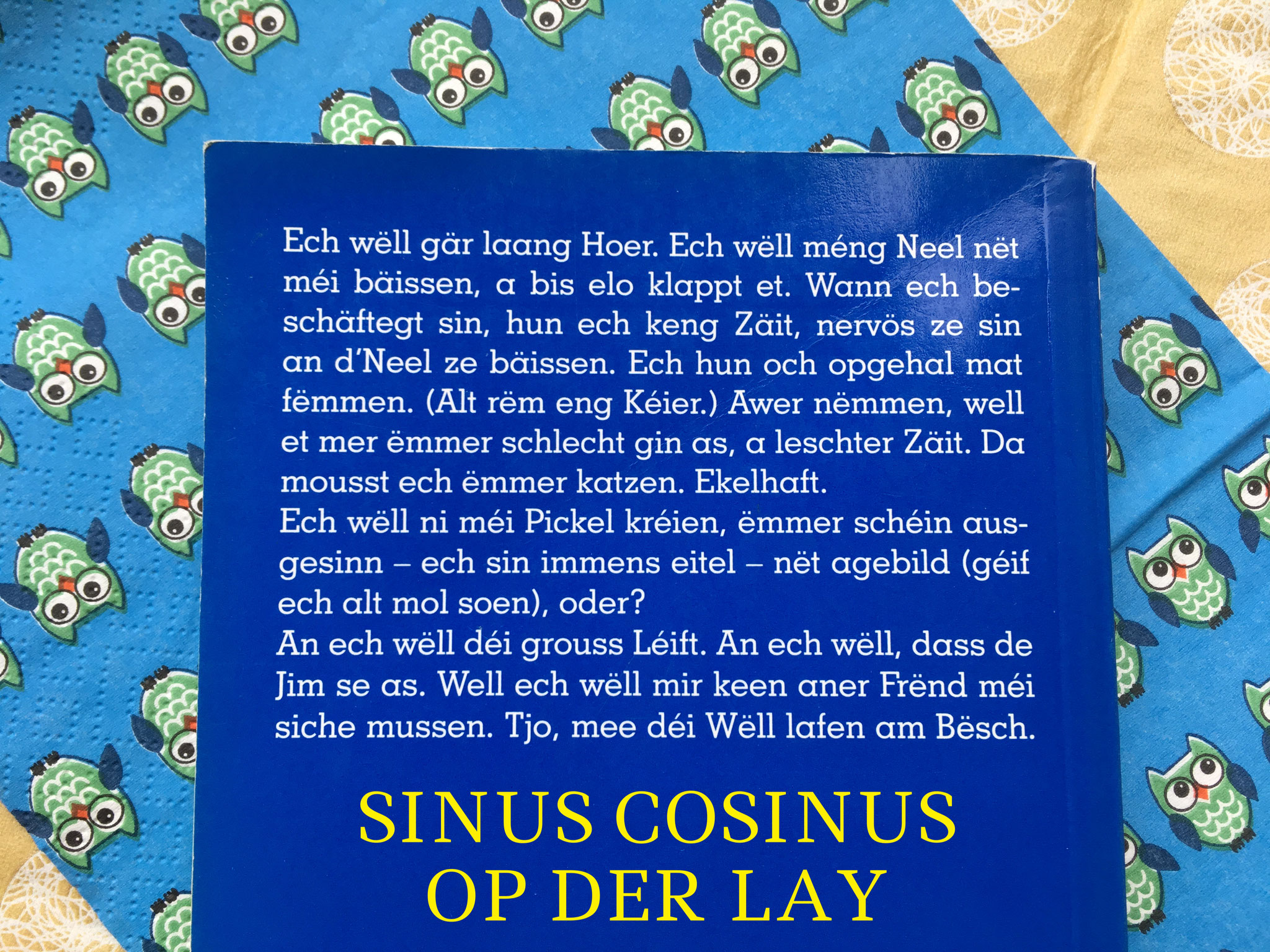 Sinus Cosinus - Op der Lay - Cathy Clement
