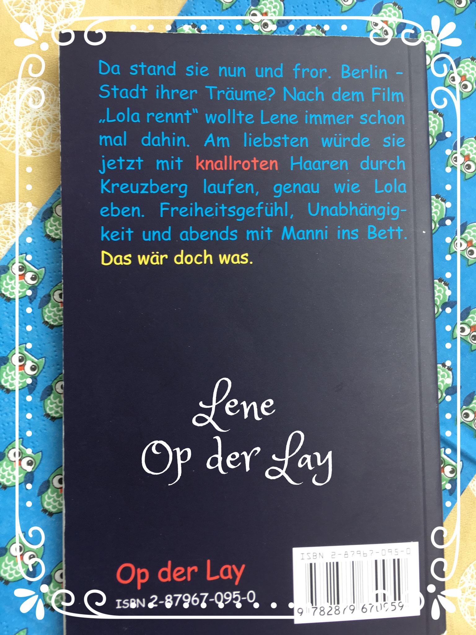Lene - Roman über Homosexualität und Liebe