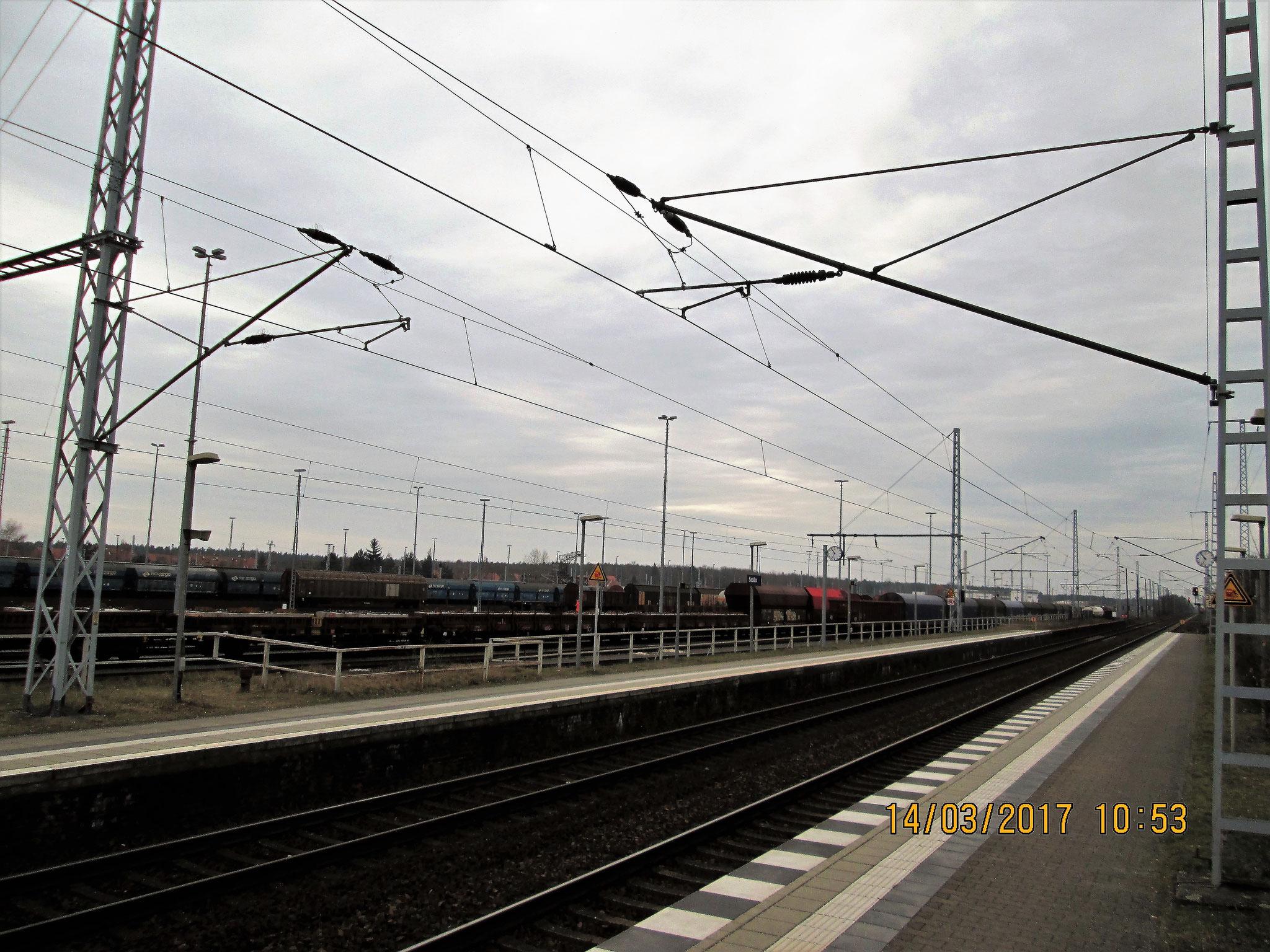 endlose Schienenwüste