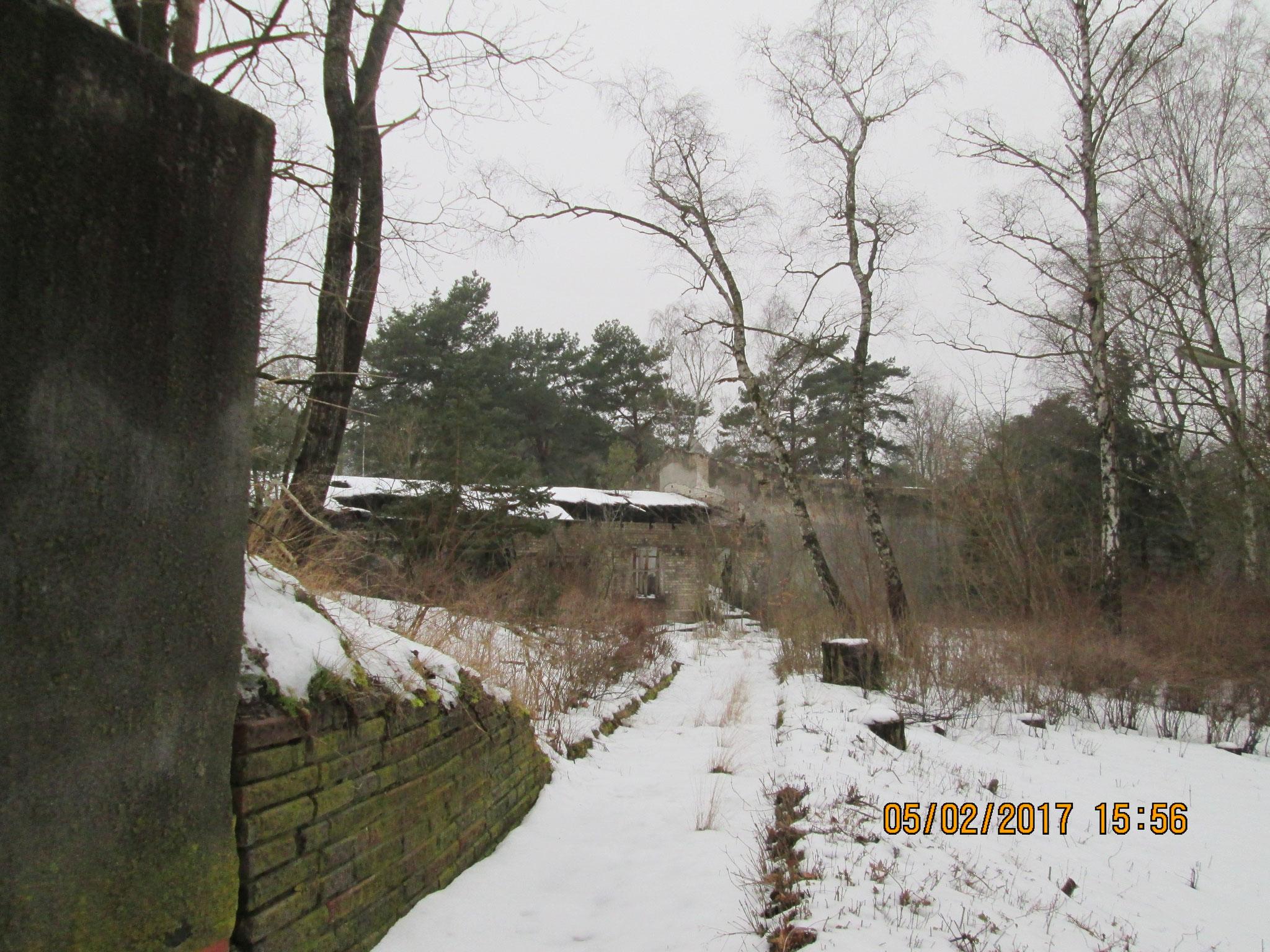 Umgebung des Bunkers Zeppelin