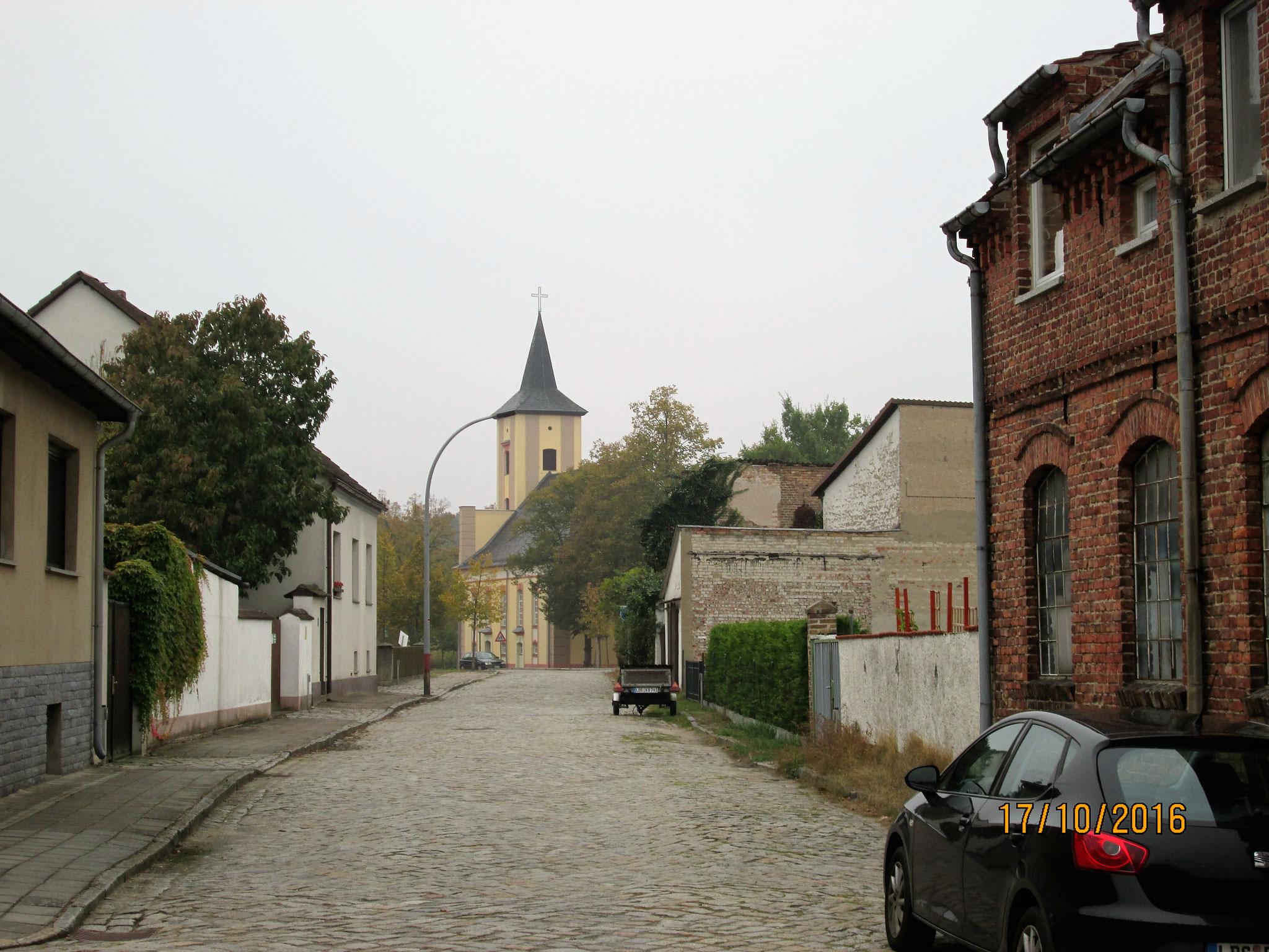 Märkisch-Buchholz, ein verschlafenes Dorf...
