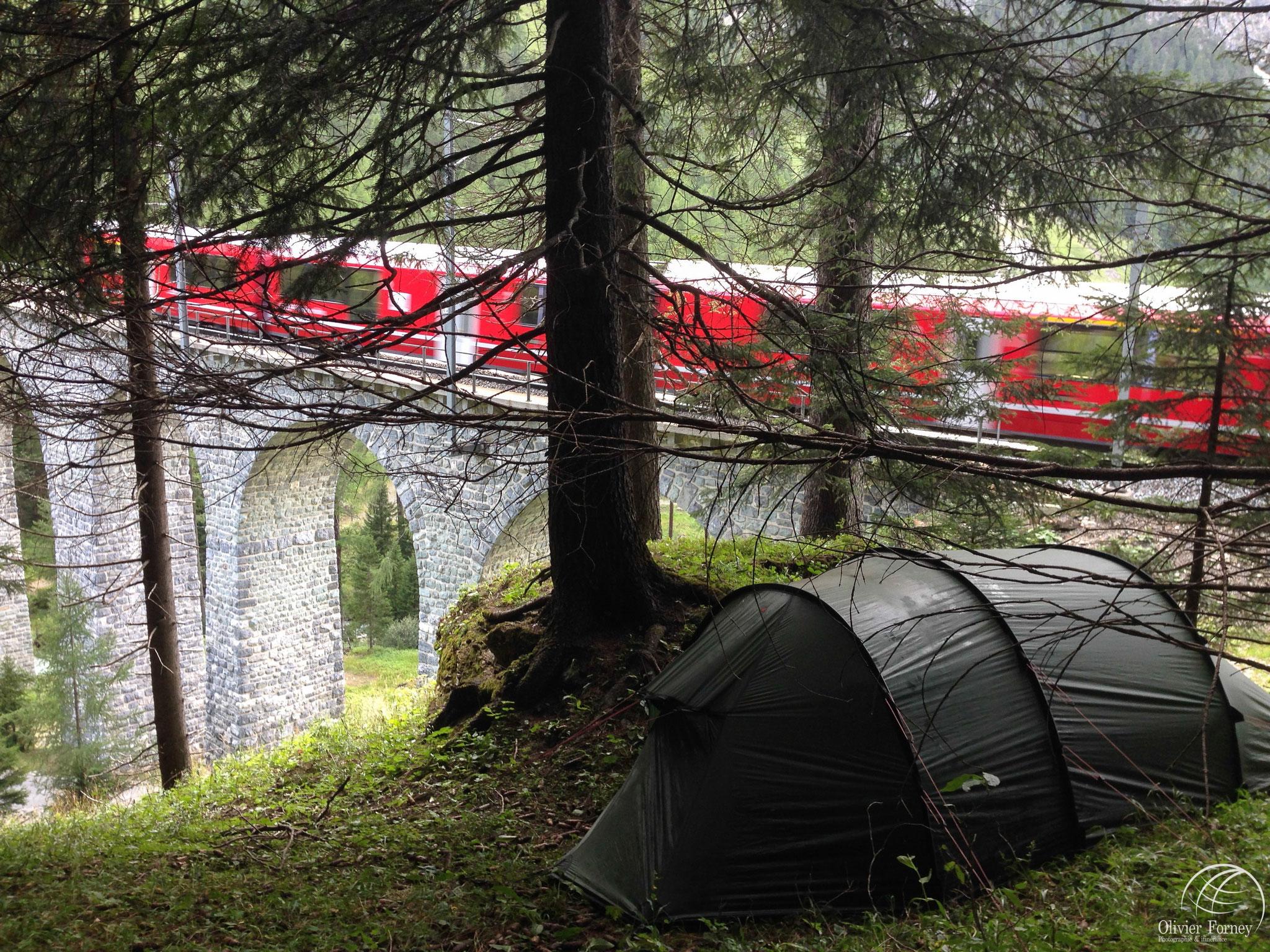 Chemin de fer / Col de l'Albula / UNESCO / Grison
