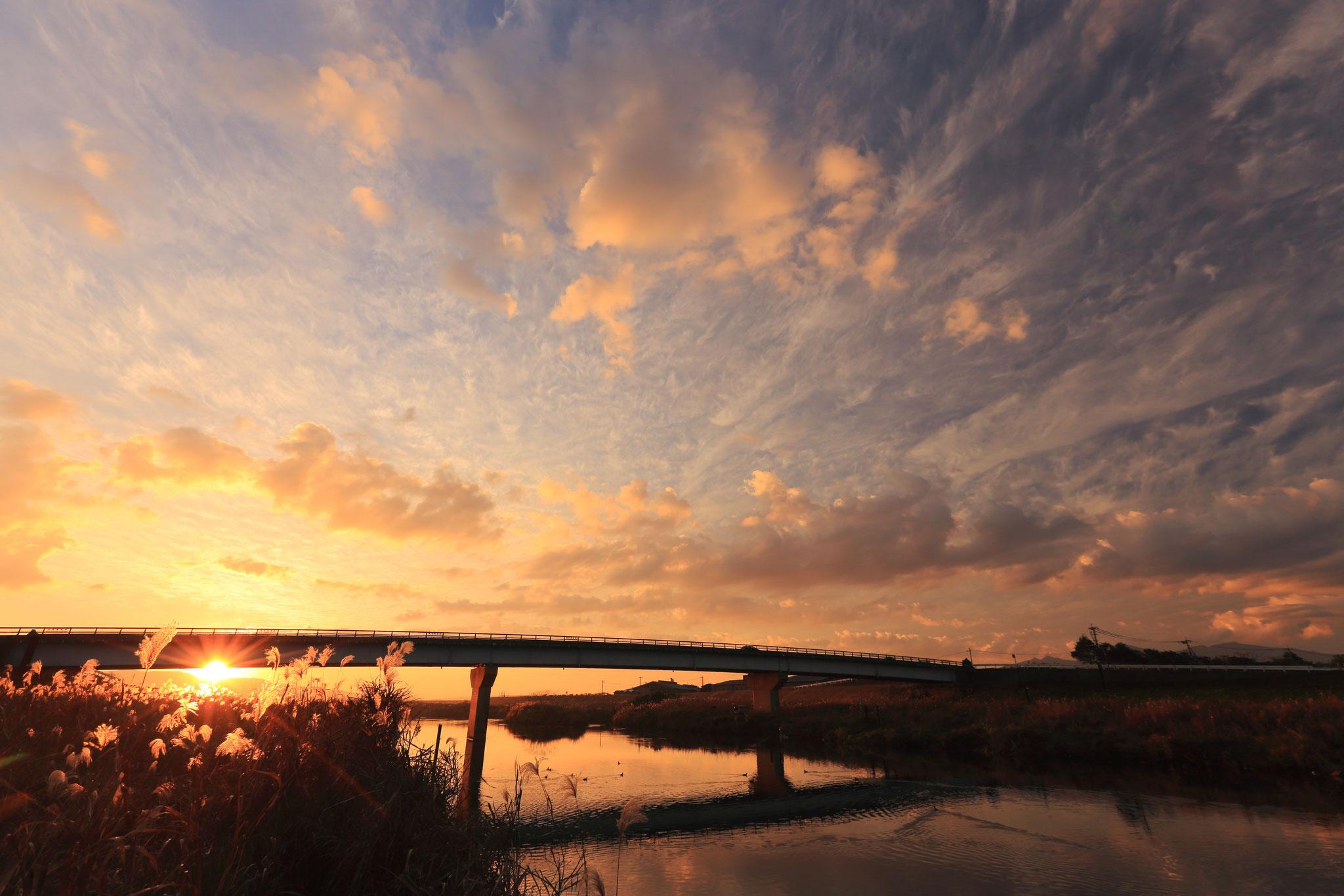 高良橋夕景