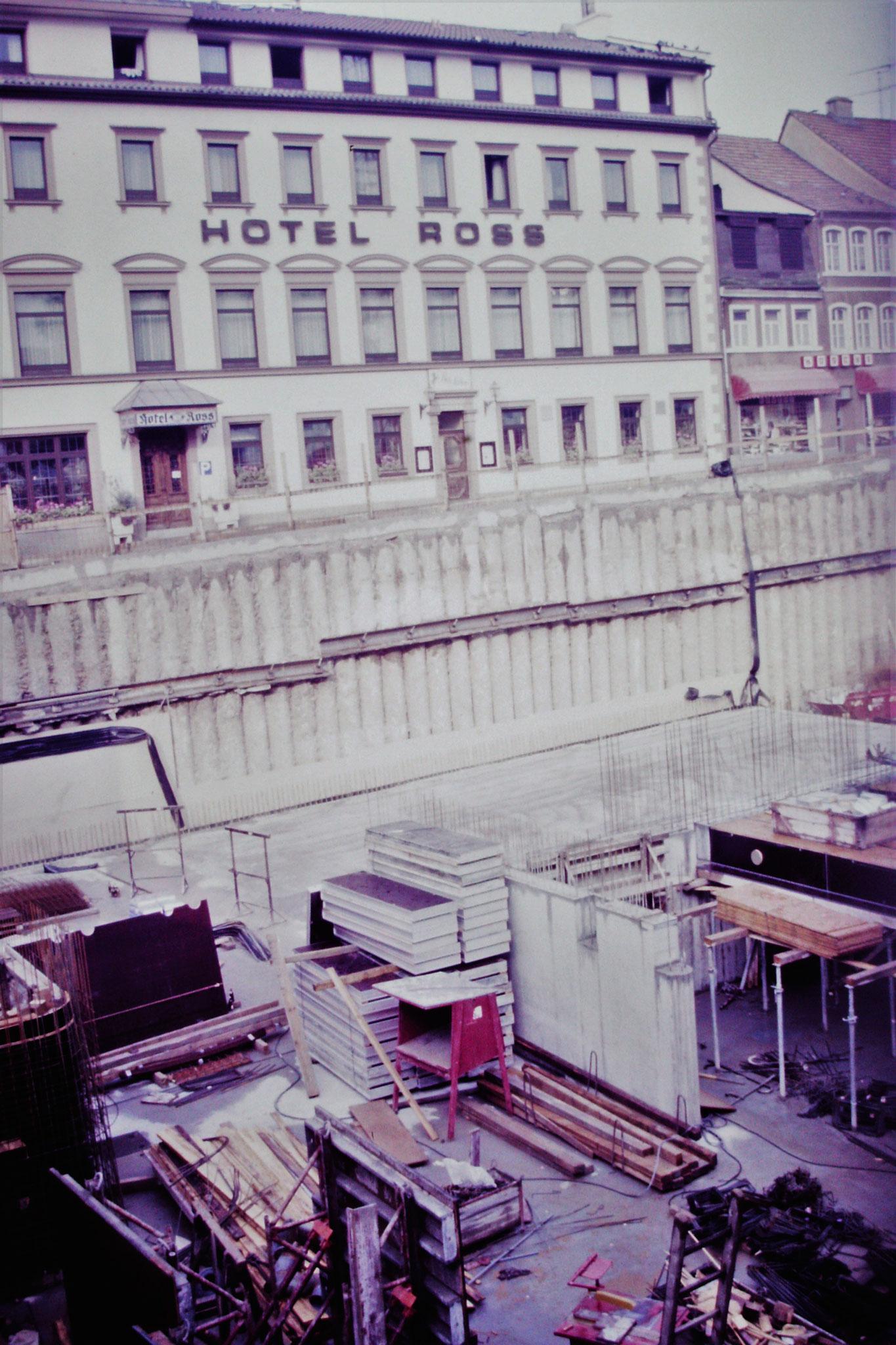 17.8.1986 - Tiefgaragenbau