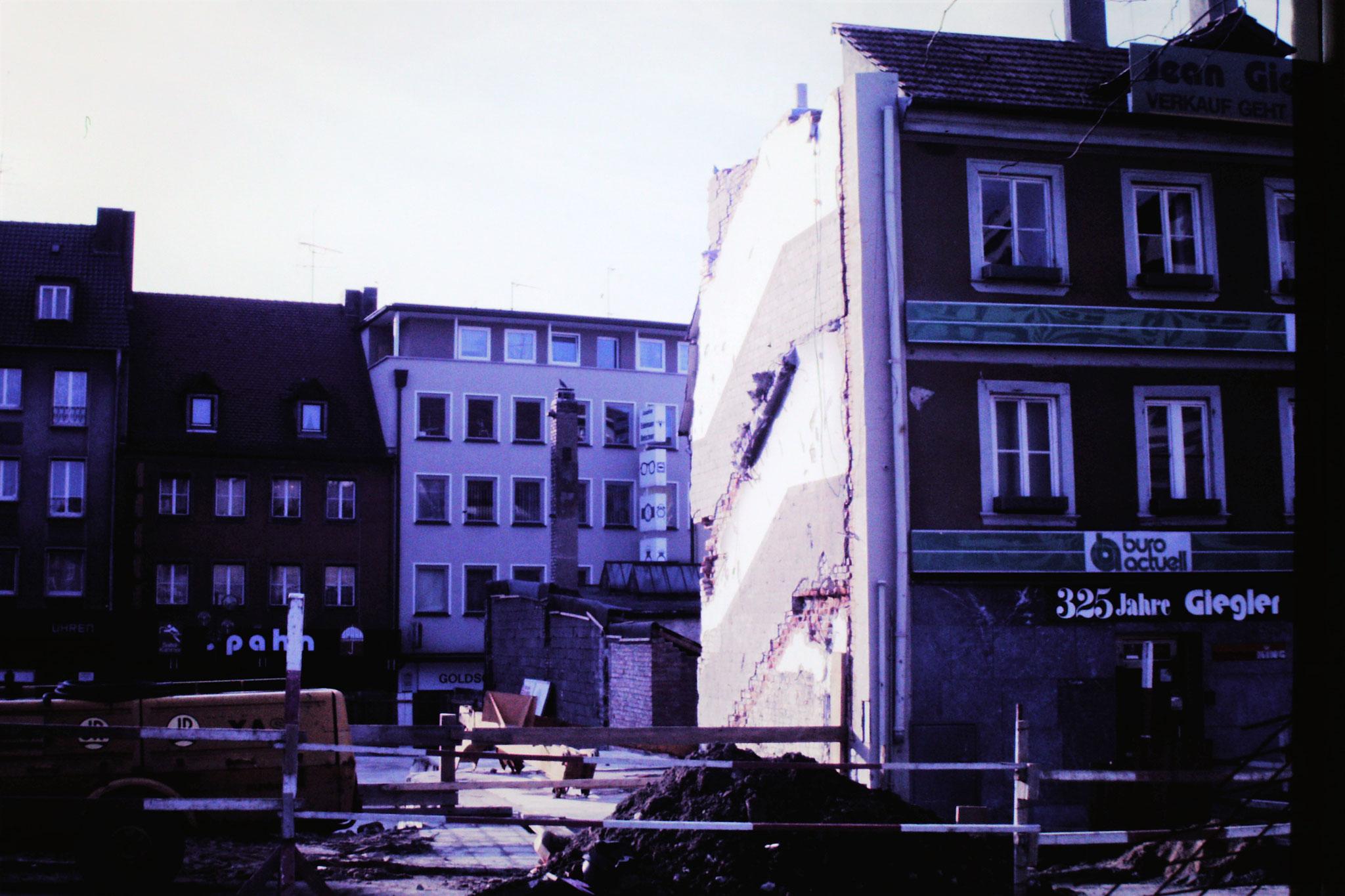 1986 - Baustelle Kroneneck