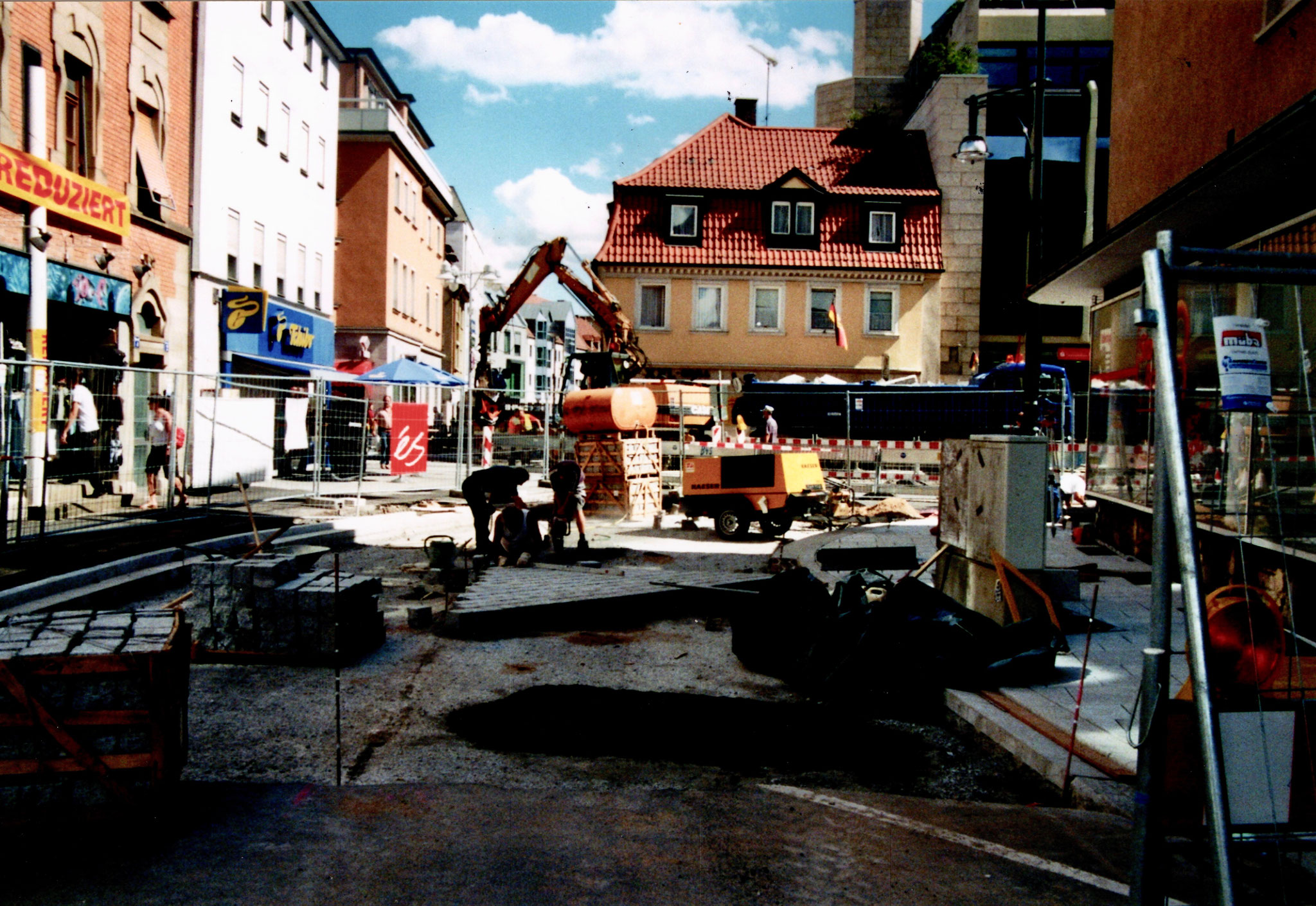 4.8.2008 Umbau Einmündung Hadergasse