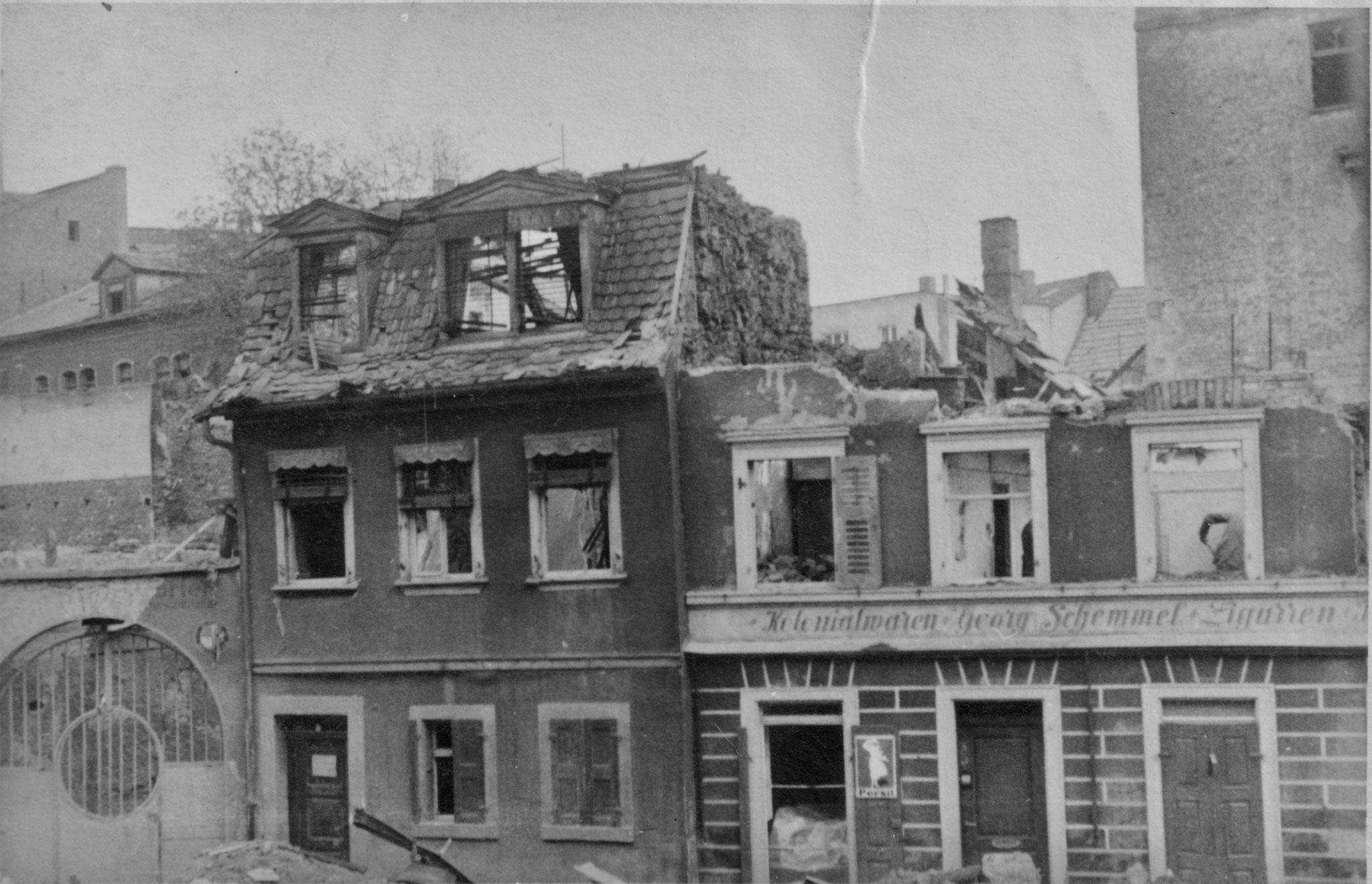Wolfsgasse 14 u. 16, 28.4.1944