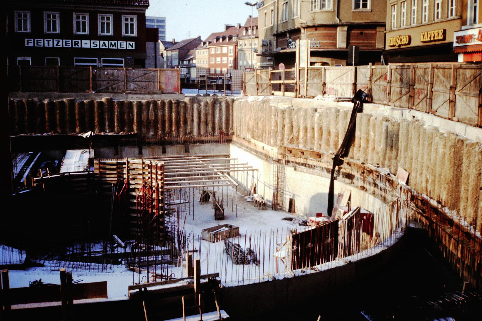 1987 - Tiefgaragenbau