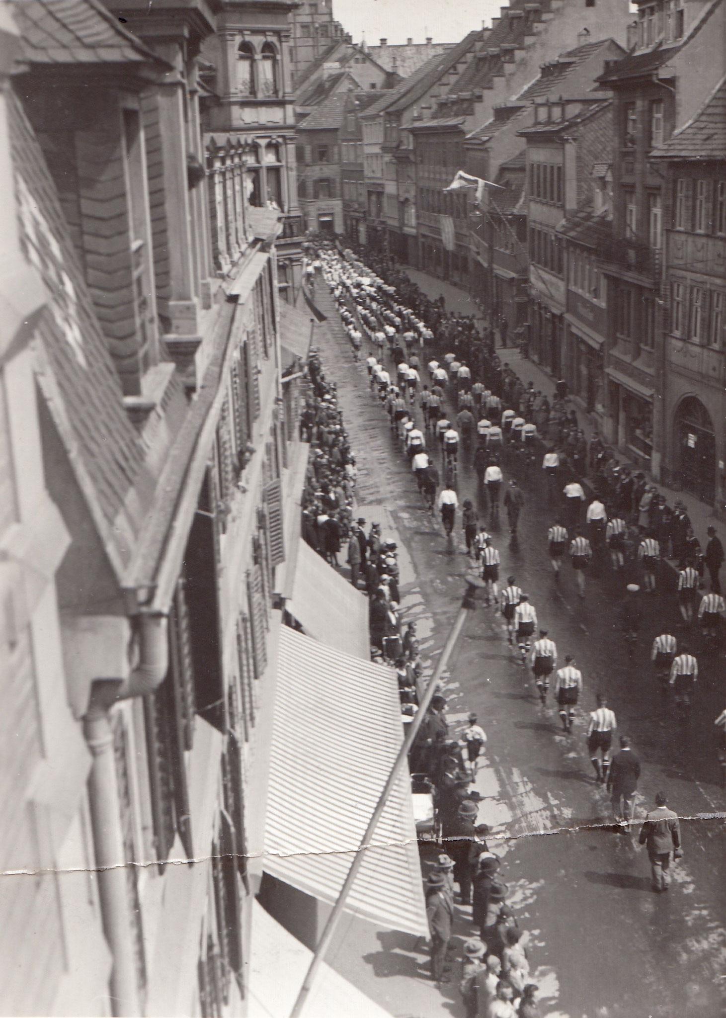 Aufmarsch 1931