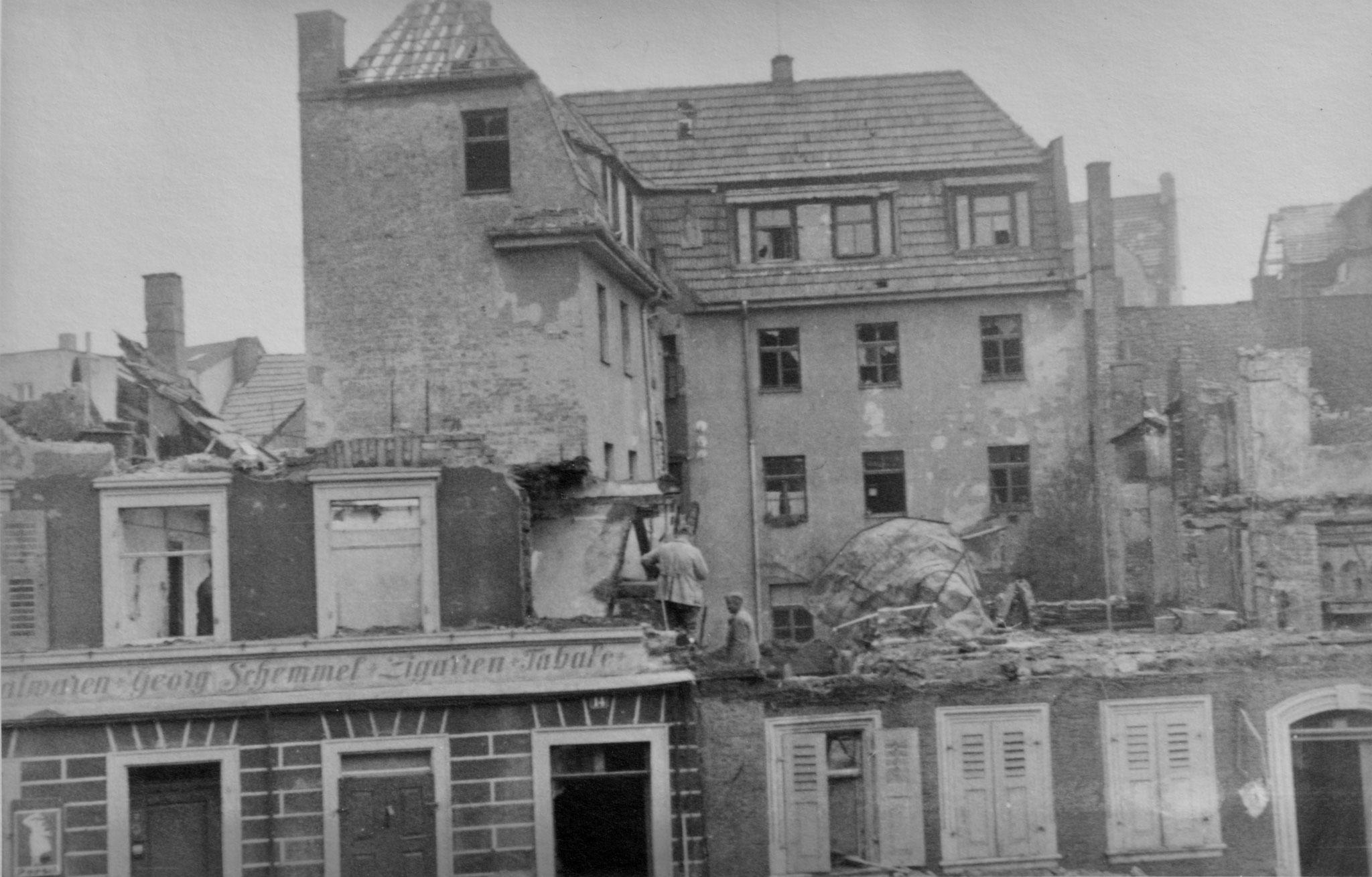 Wolfsgasse Tabakwaren Schemmel 28.4.1944