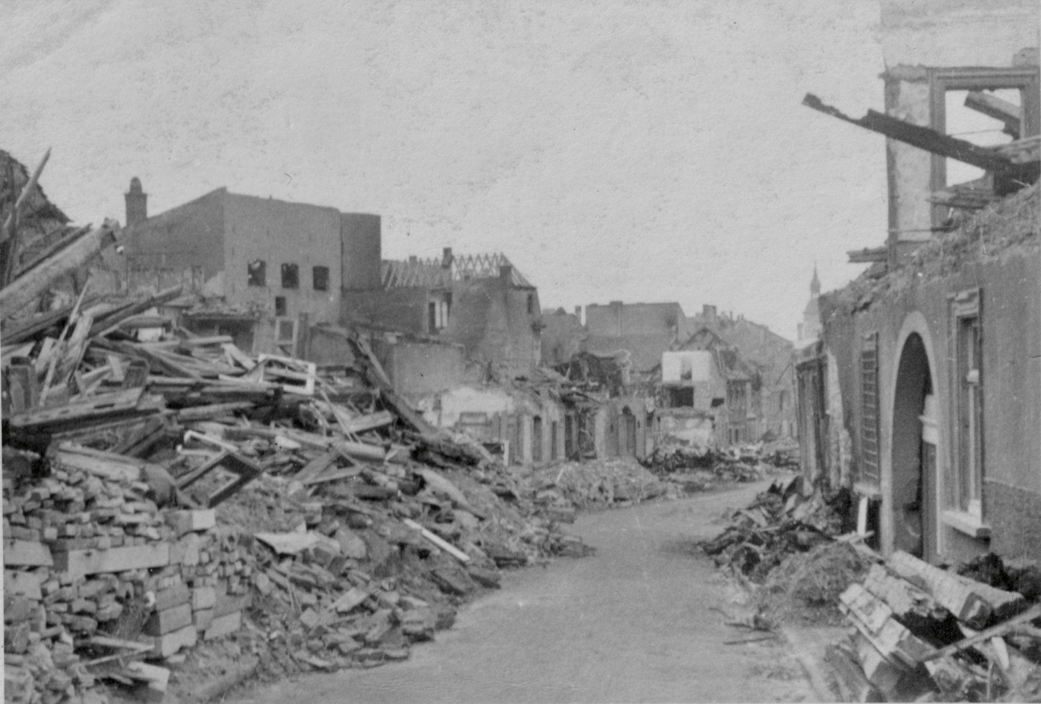 Wolfsgasse, 28. Februar 1944