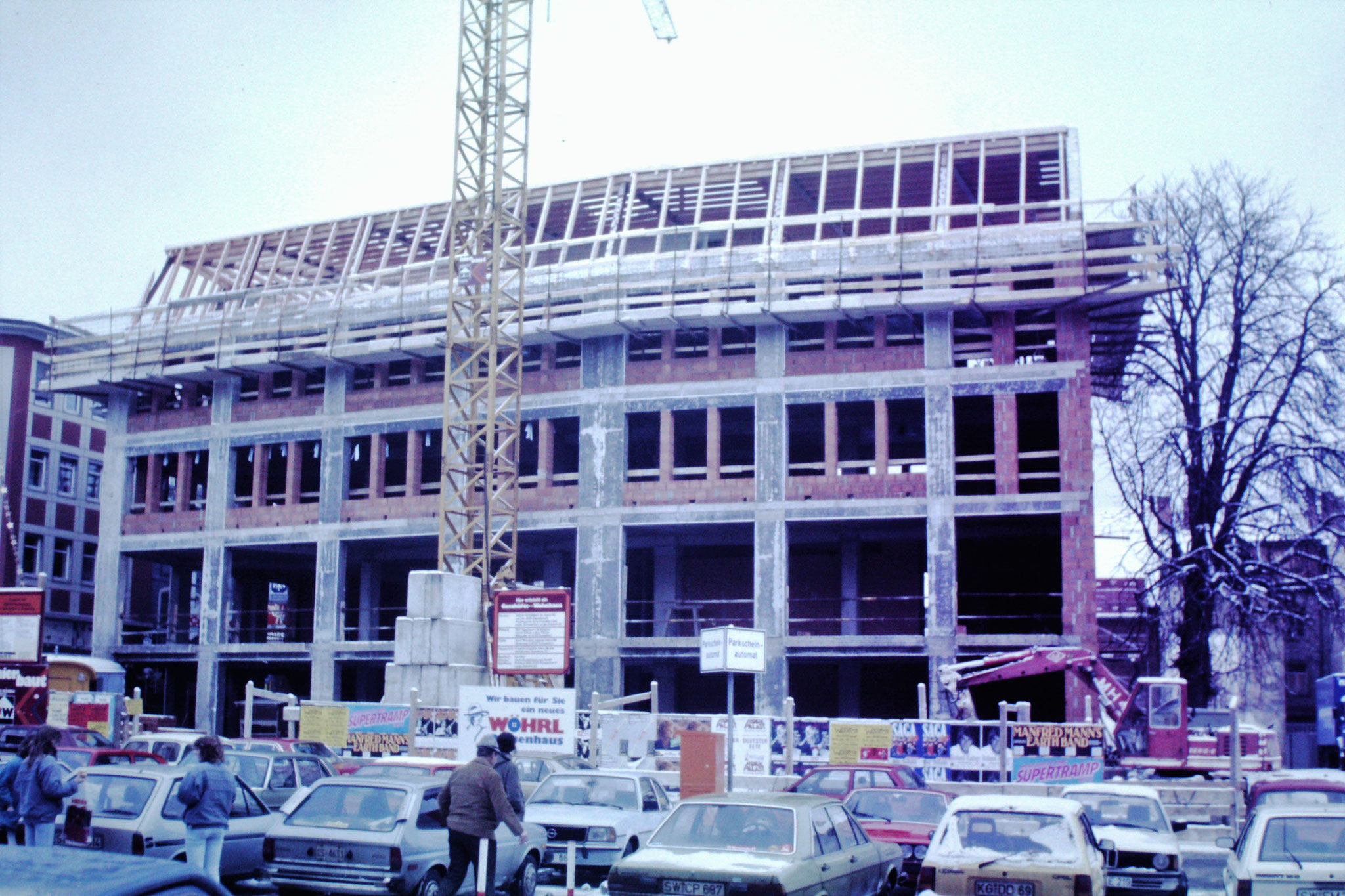 1986 - Baustelle Union Wohnbau