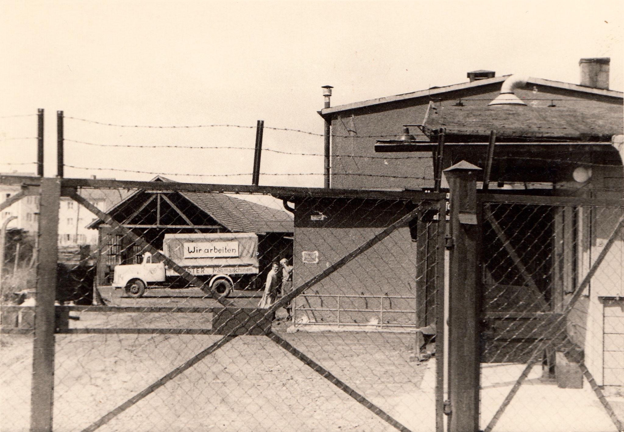Betriebsgelände der Firma Vogel ca. 1951 - Dank an Ernst Härterich