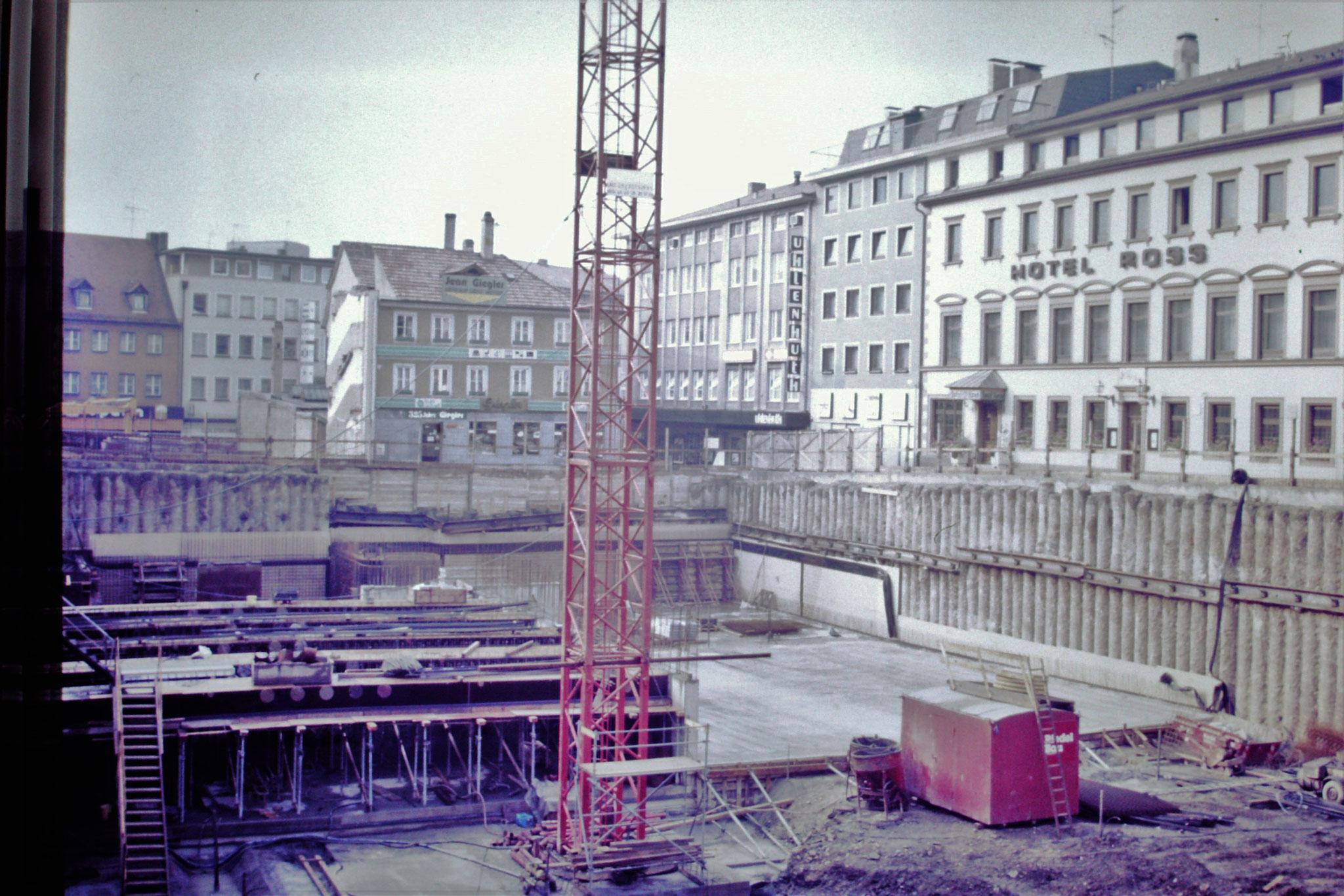 1986 - Tiefgaragenbau