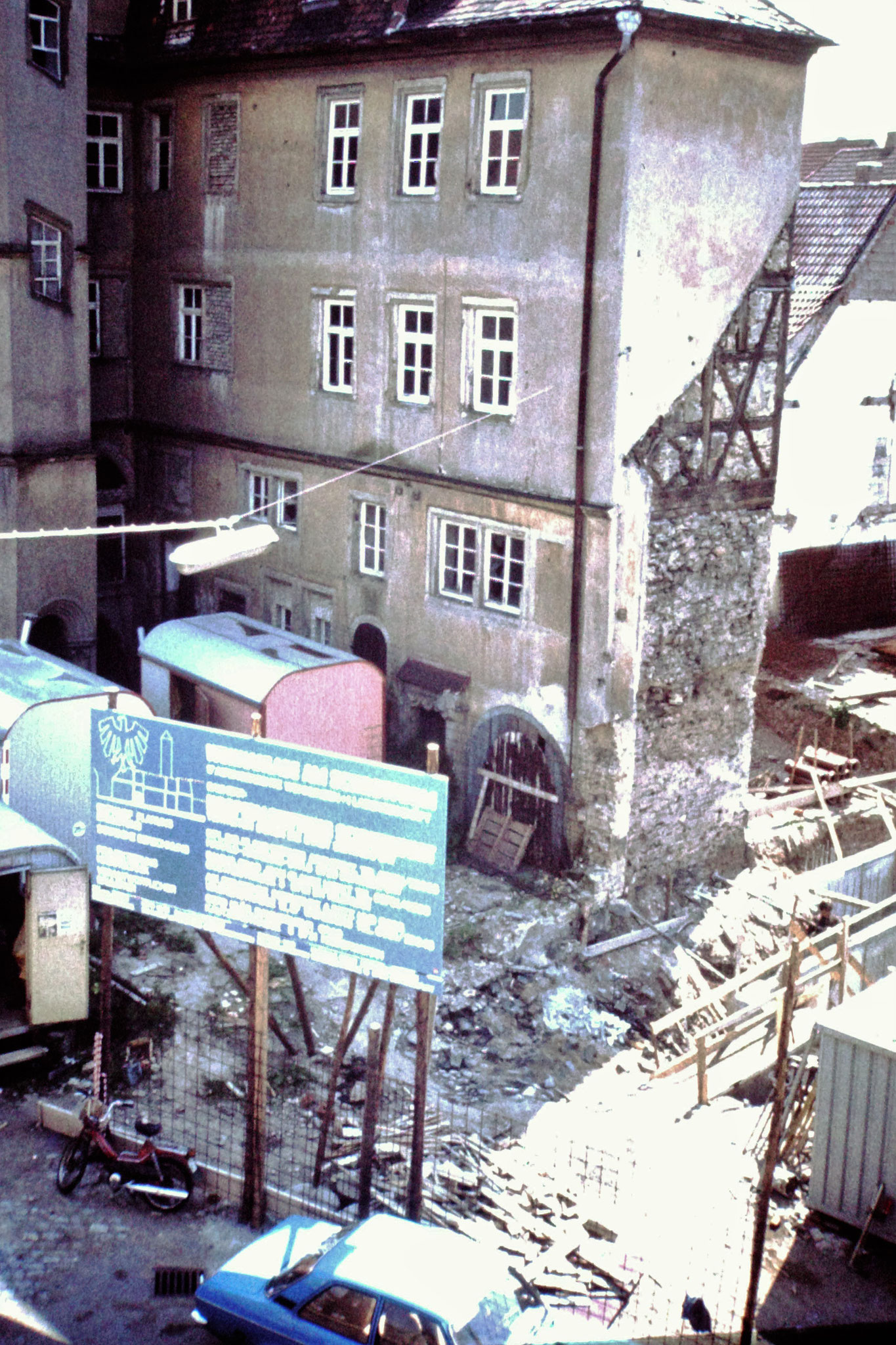 20.6.1981 Abriss Petersgasse