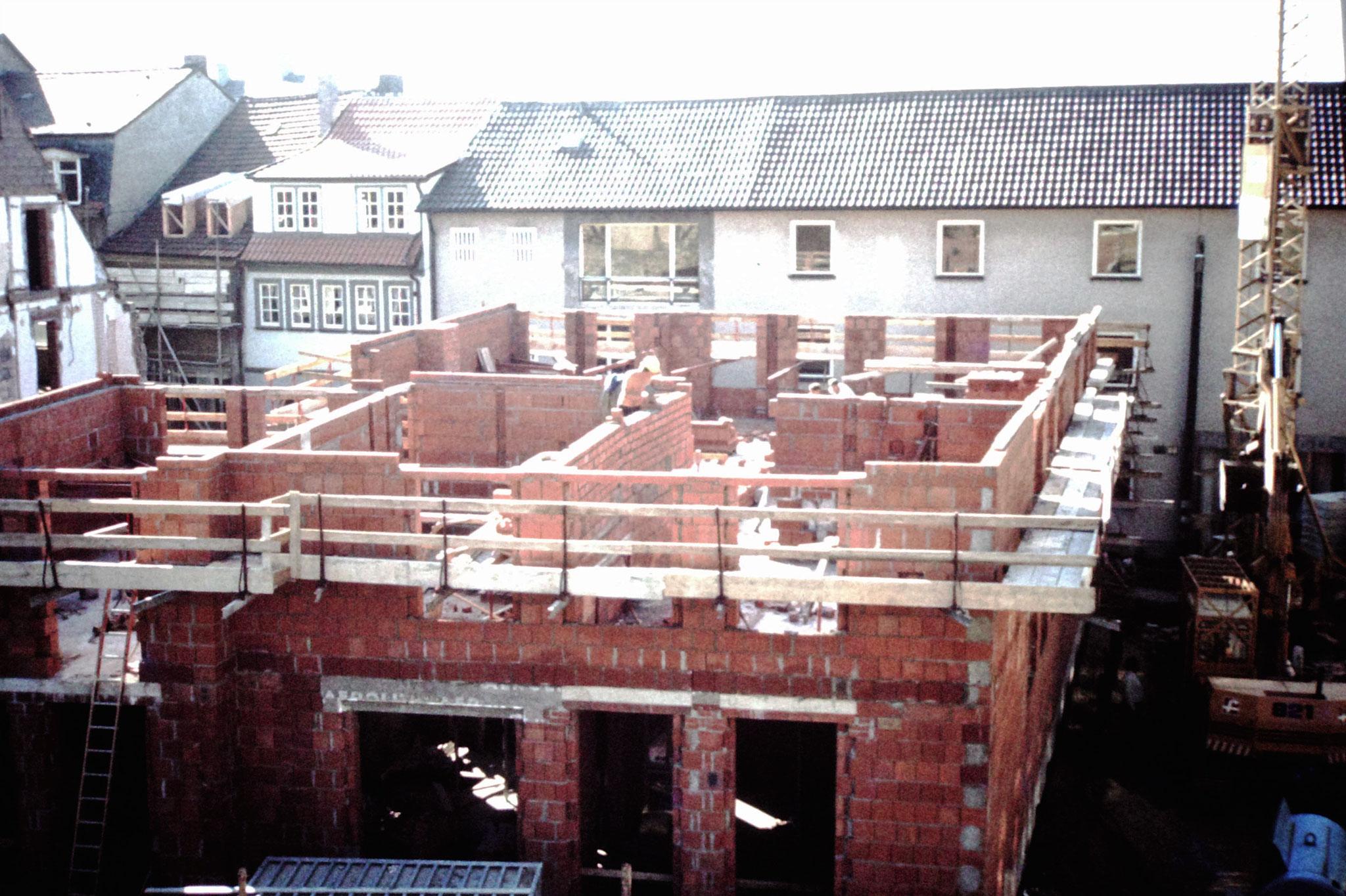 1981 Baustelle Petersgasse