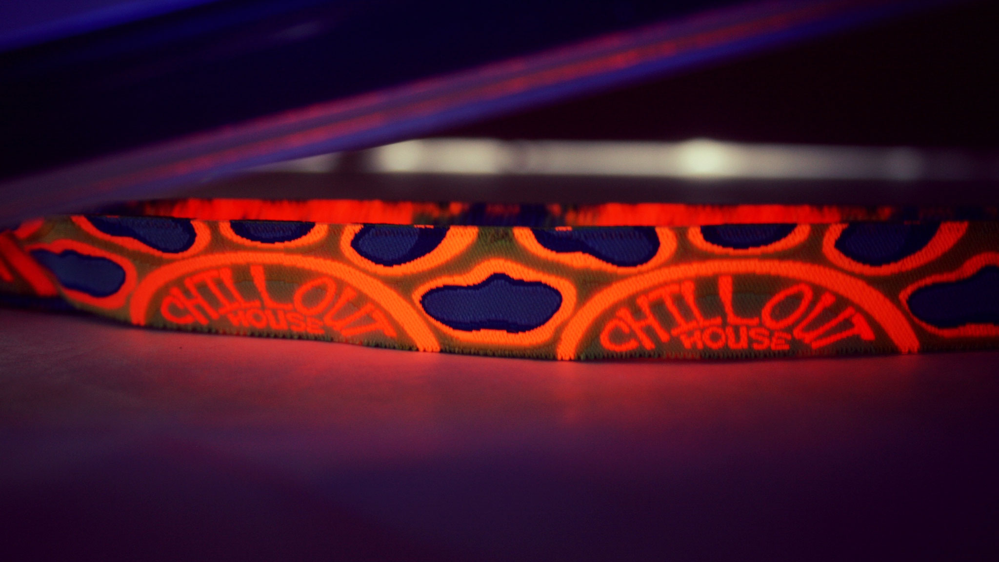Customise your bands with UV, Metallic thread and variable data