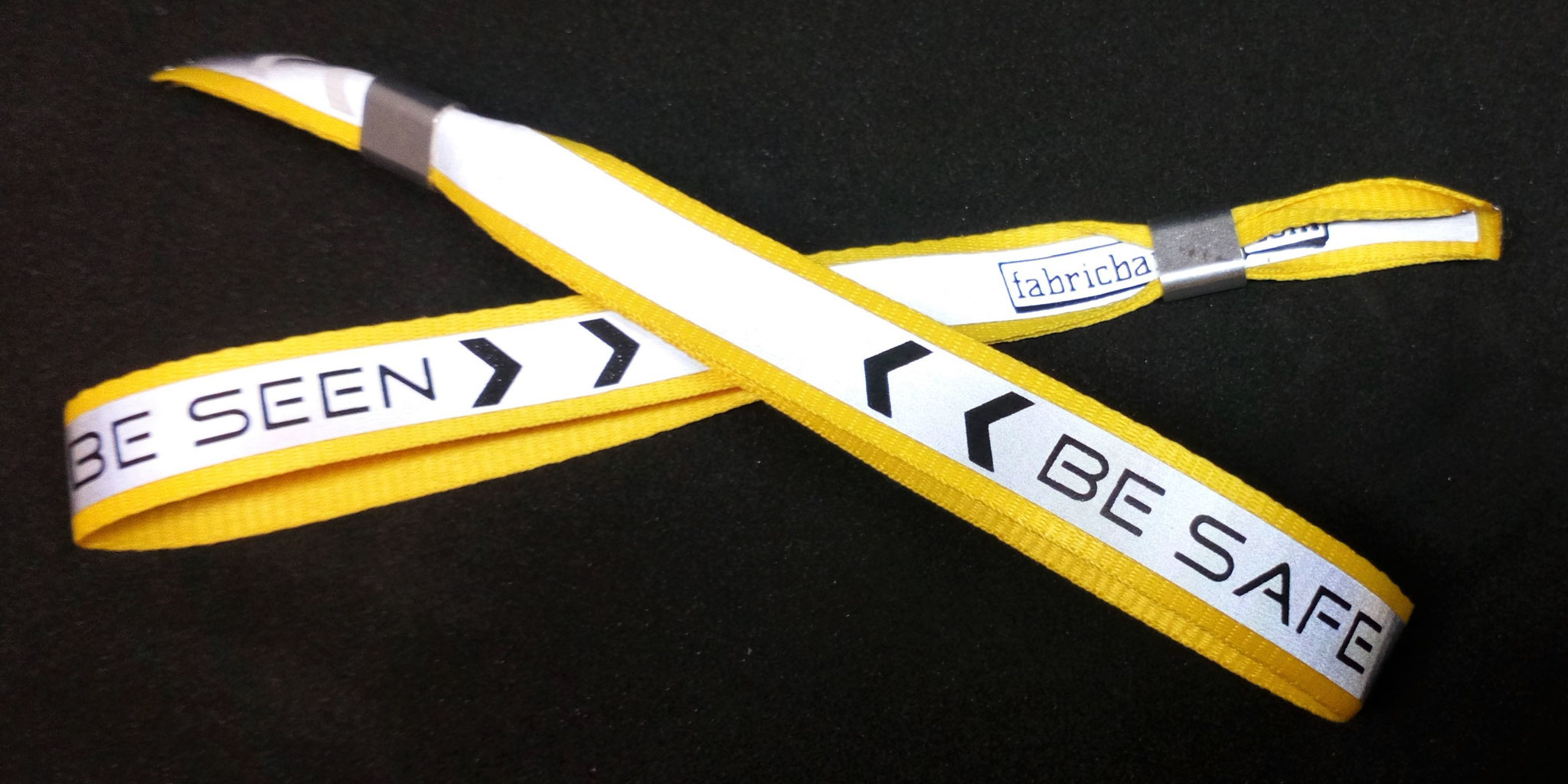 Ask about our reflective wristbands