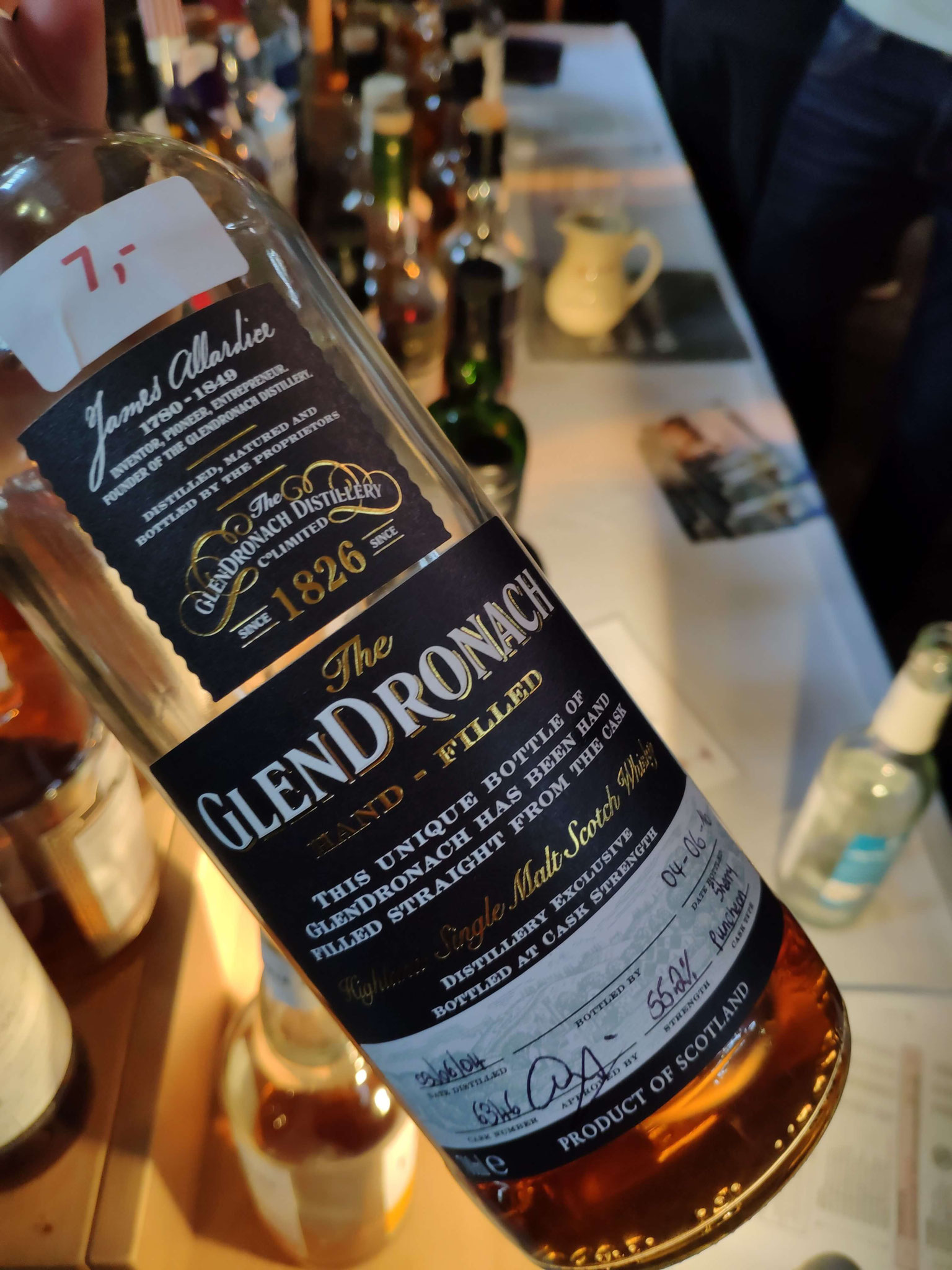 GlenDronach Hand Filled