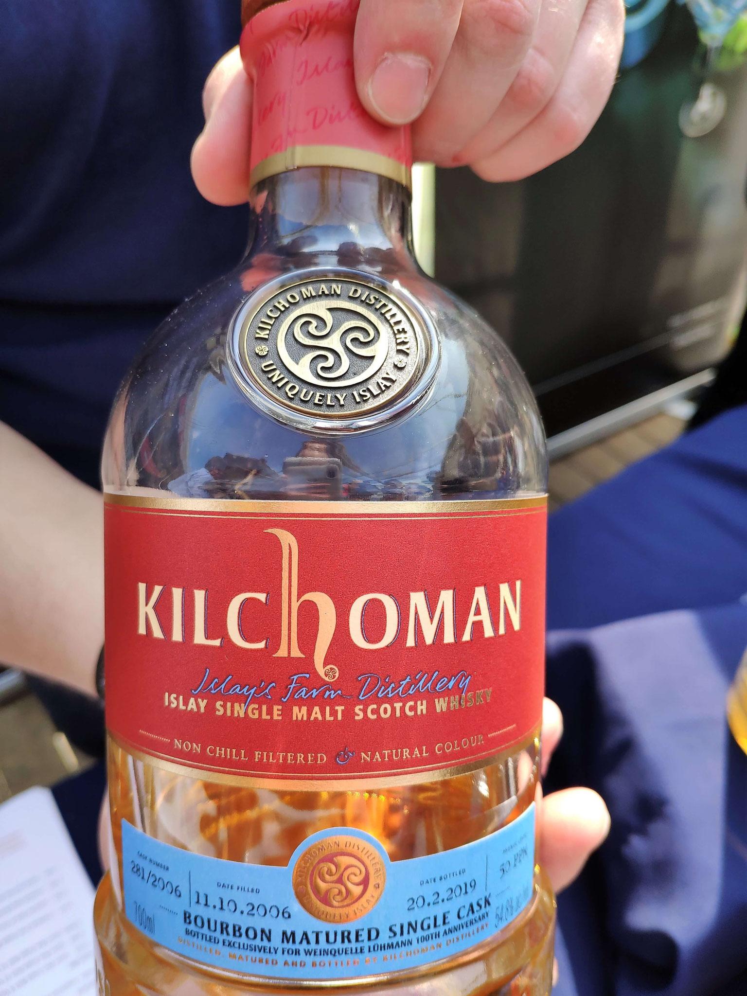Die eigene Abfüllung von Kilchoman