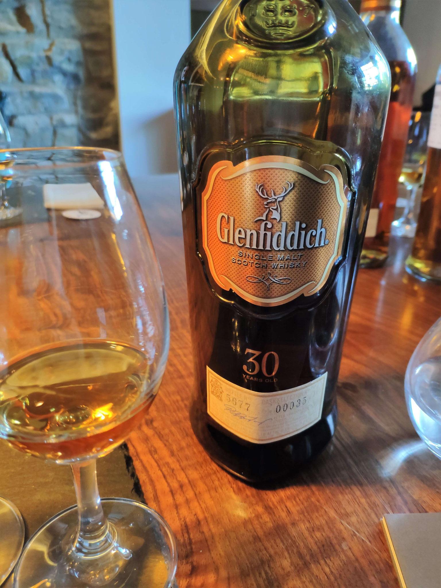 Eine Steigerung ist kaum mehr möglich: Glenfiddich 30 Jahre.