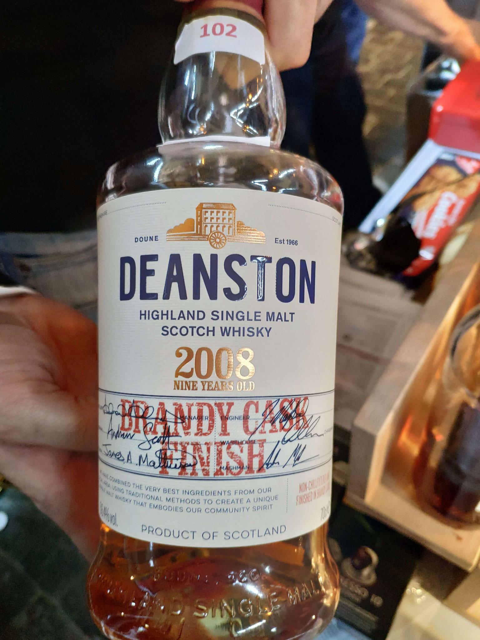 Deanston Brandy Cask