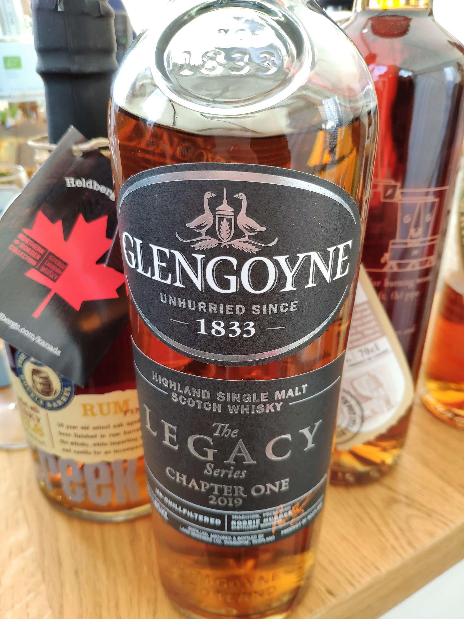 Der zweite Dram des Tages kam von Glengoyne.