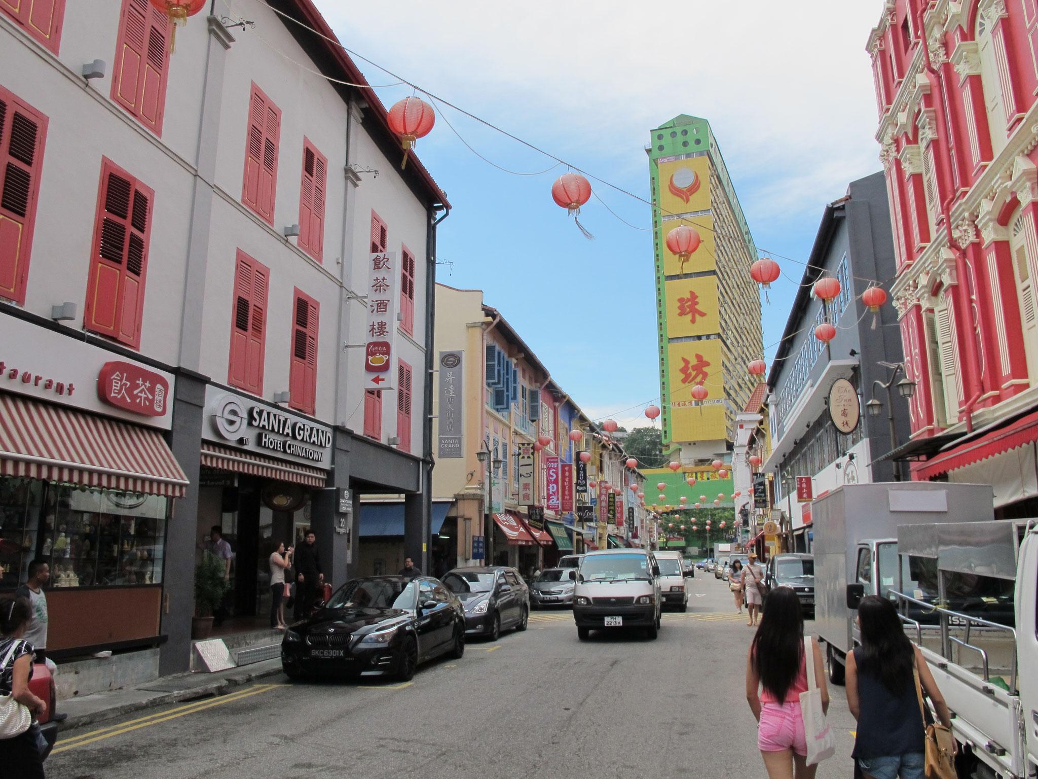 "Singapur - Chinatown - das ""Pediküre-Erlebnis"""
