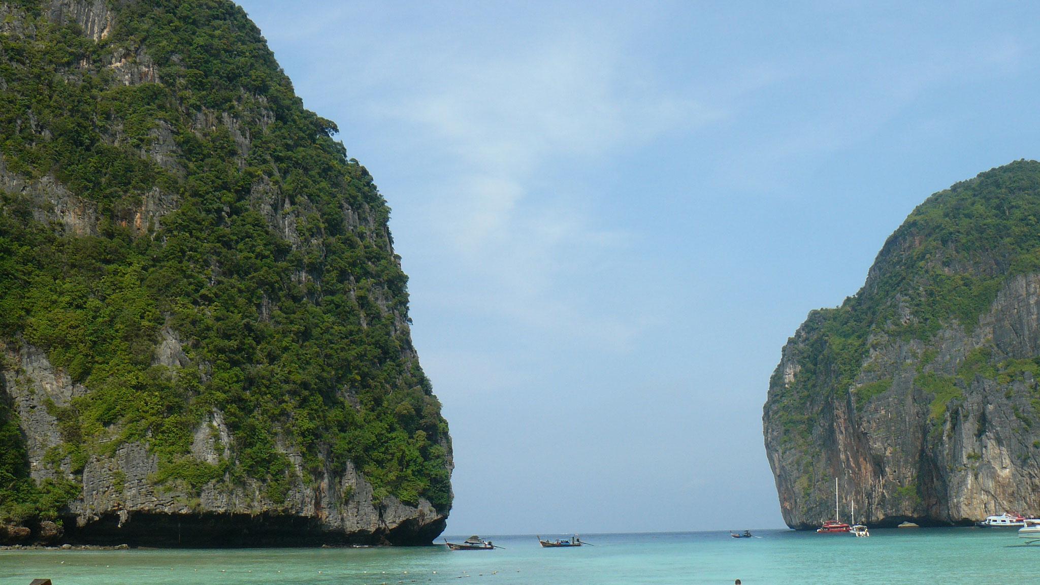 Thailand, Ko Phi Phi - Victoria und Roman