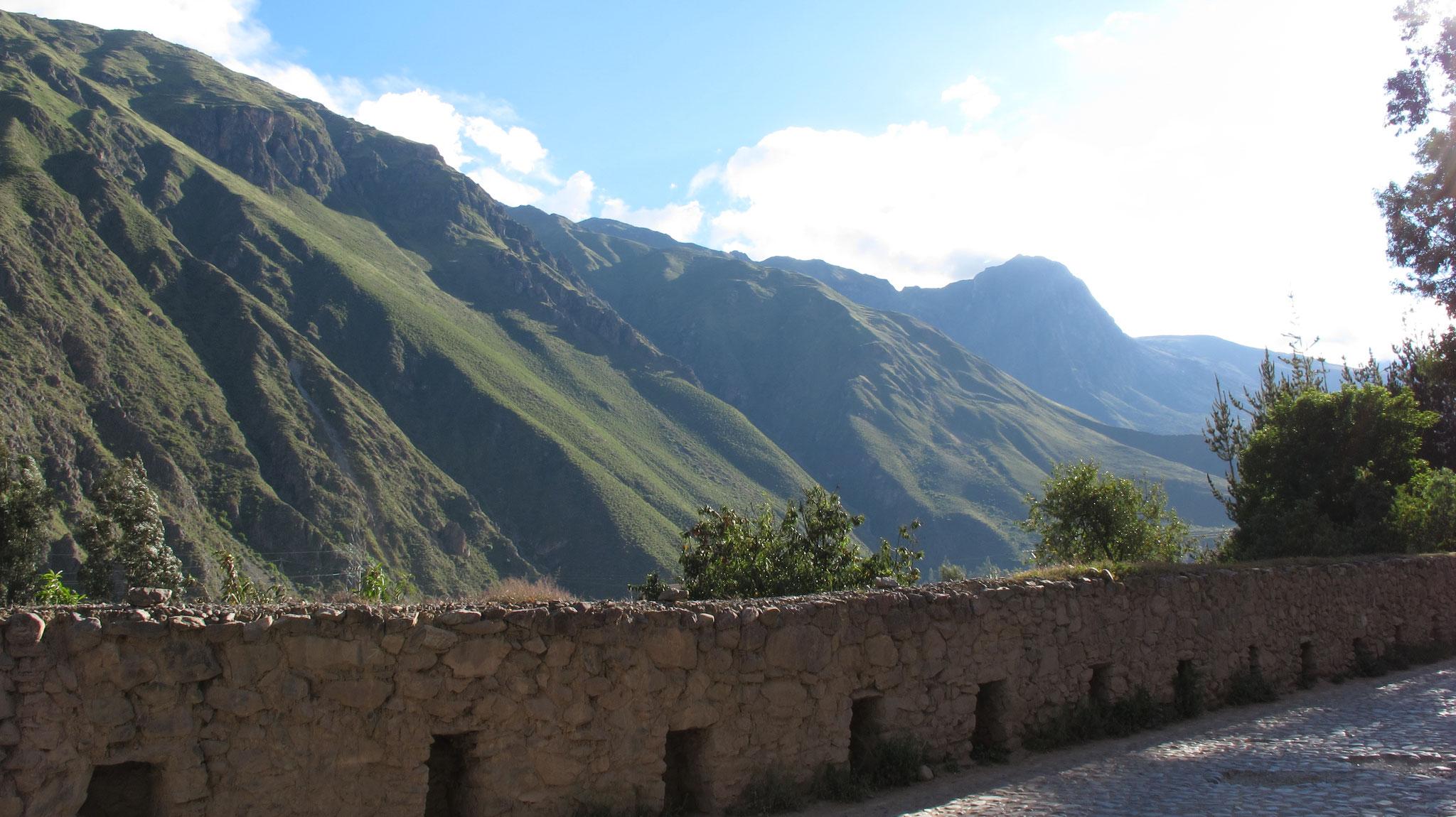 Bolivien - auf dieser Mauer hat sich Lena final von ihrem Ehemann getrennt