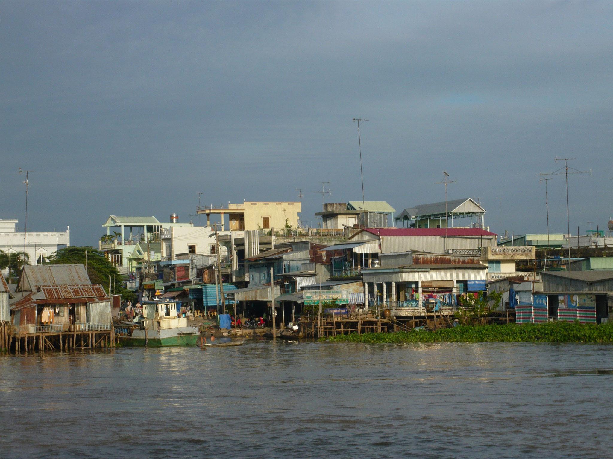 Kambodscha - Die Fahrt auf dem Mekong