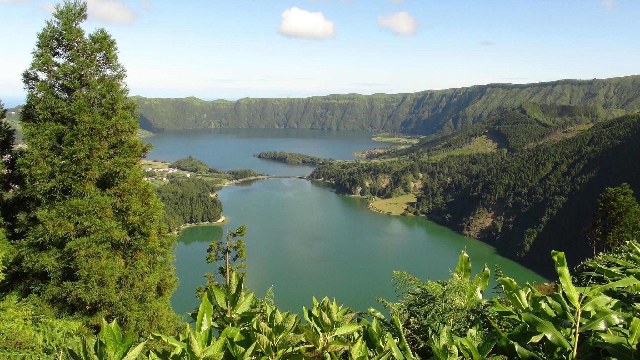 Kratersee Caldeira das Sete Cidades, Azoren