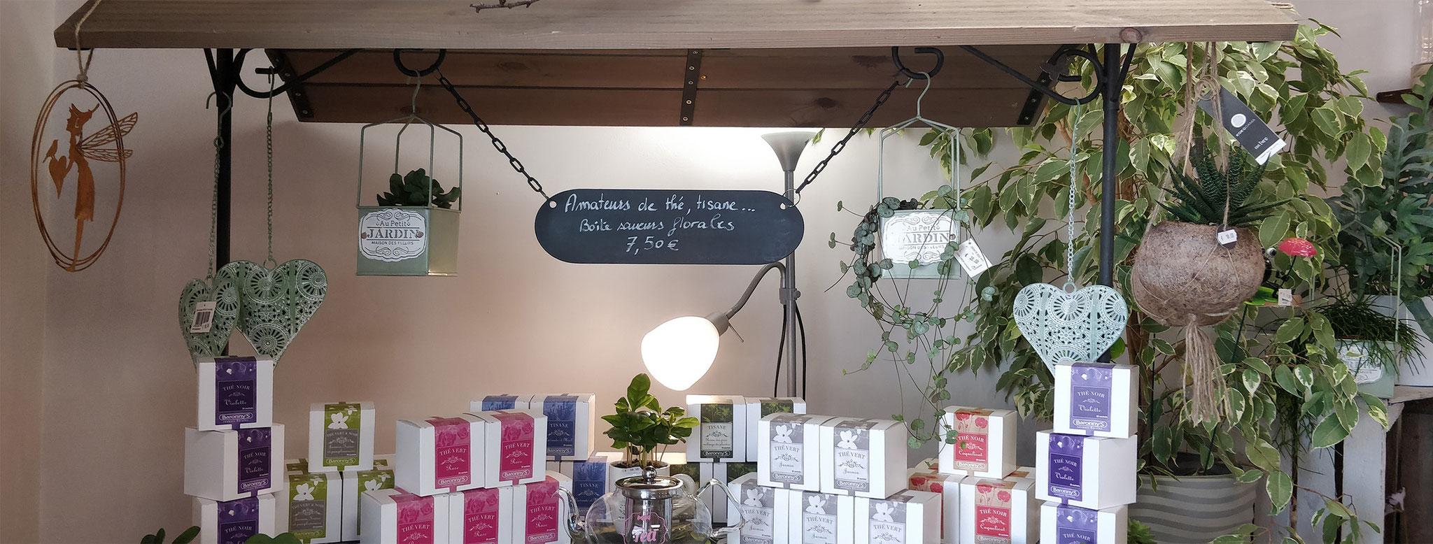 Thés floraux Baronny's