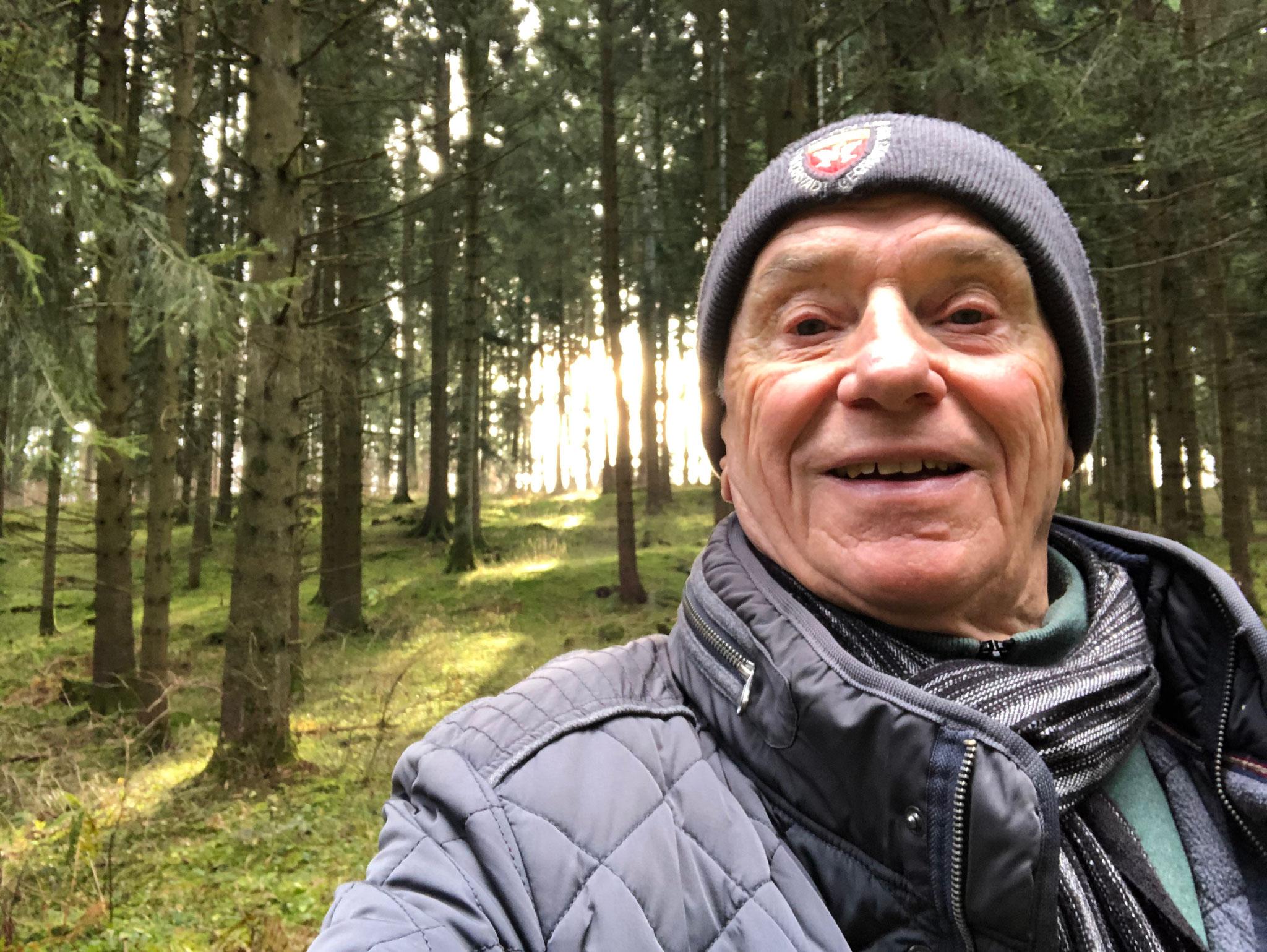 2020 Waldwandern im Jan. ohne Schnee