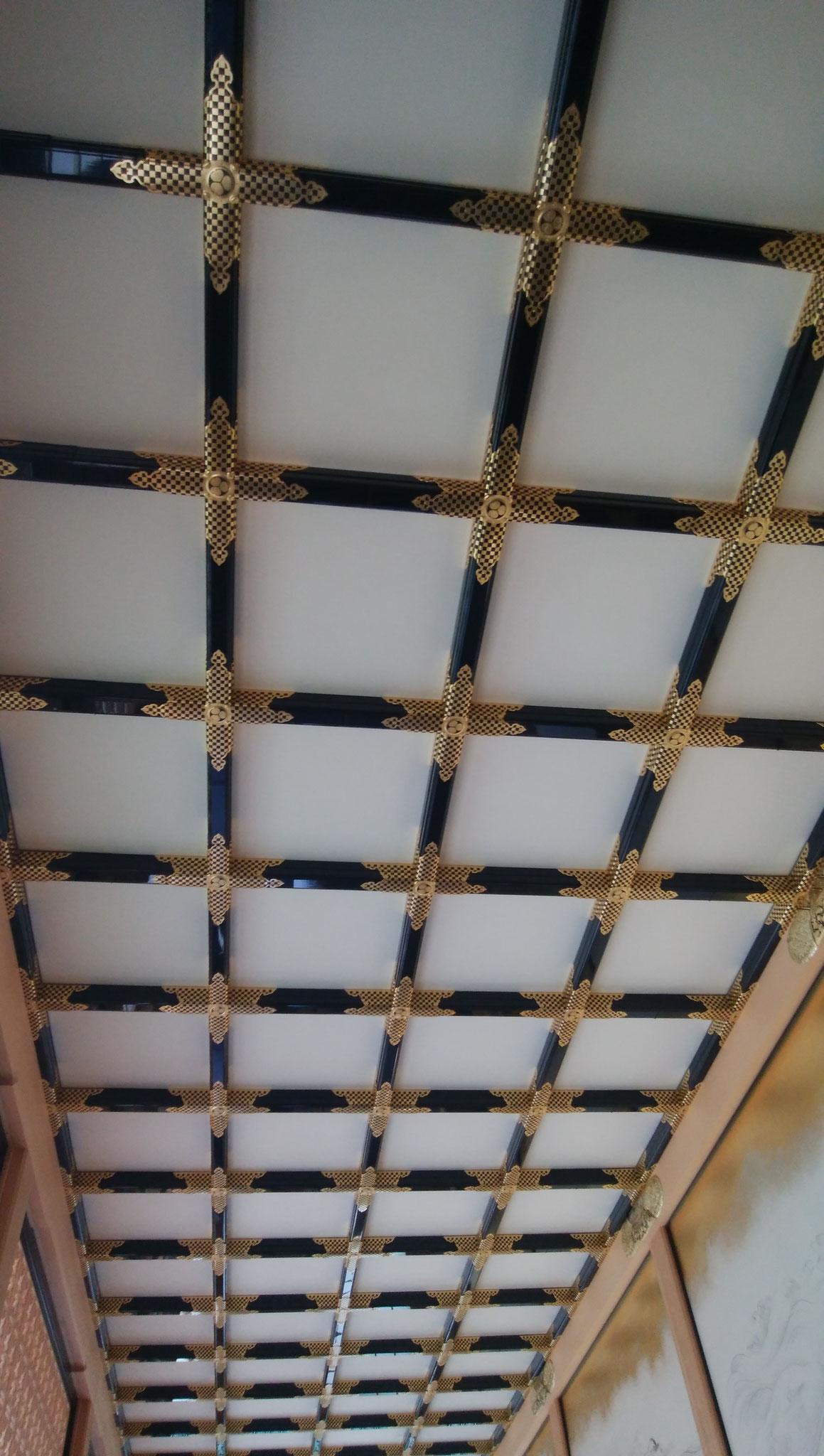 本丸御殿の天井