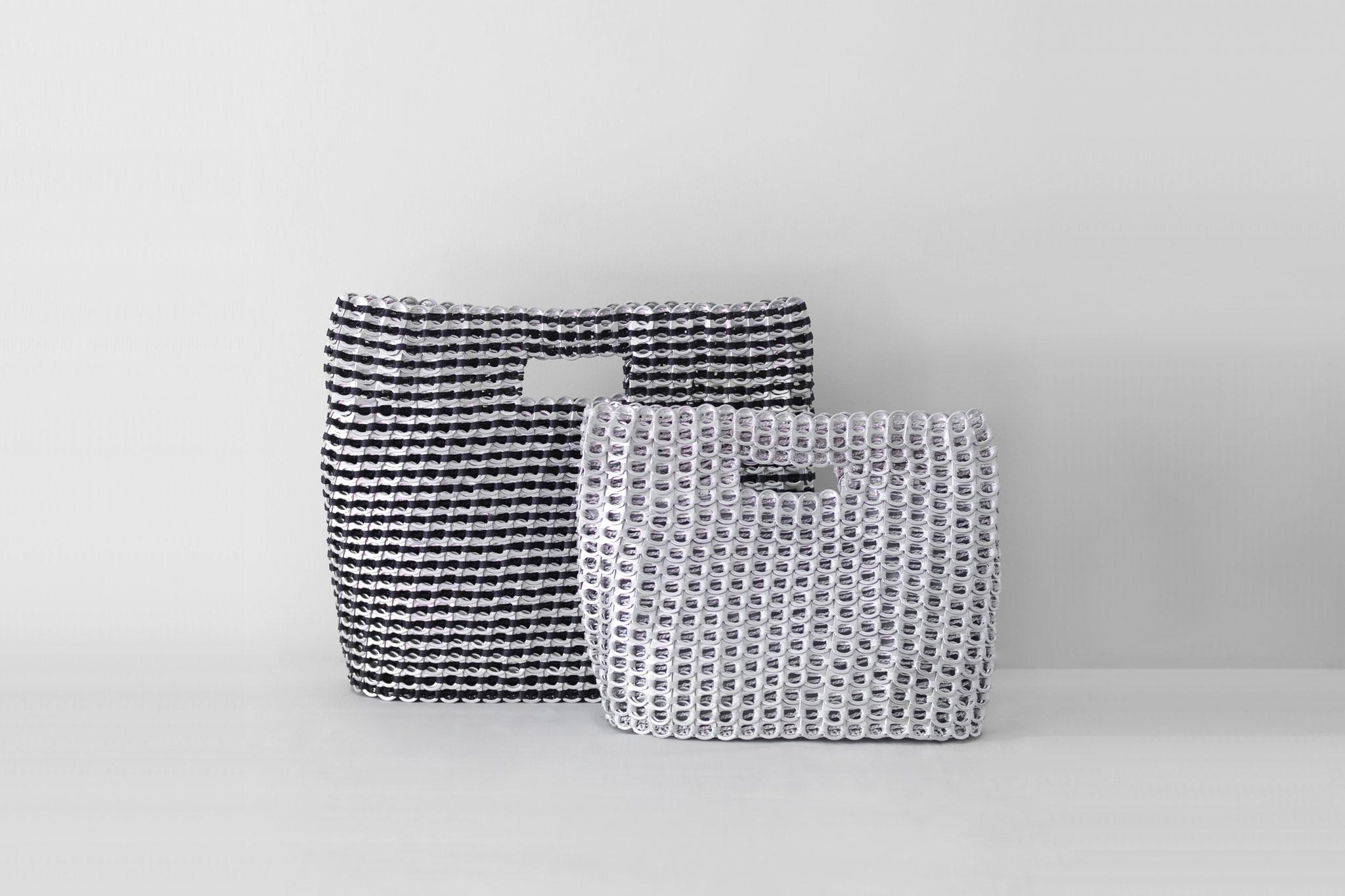 カンボジア雑貨 -プルタブで作られたバッグ