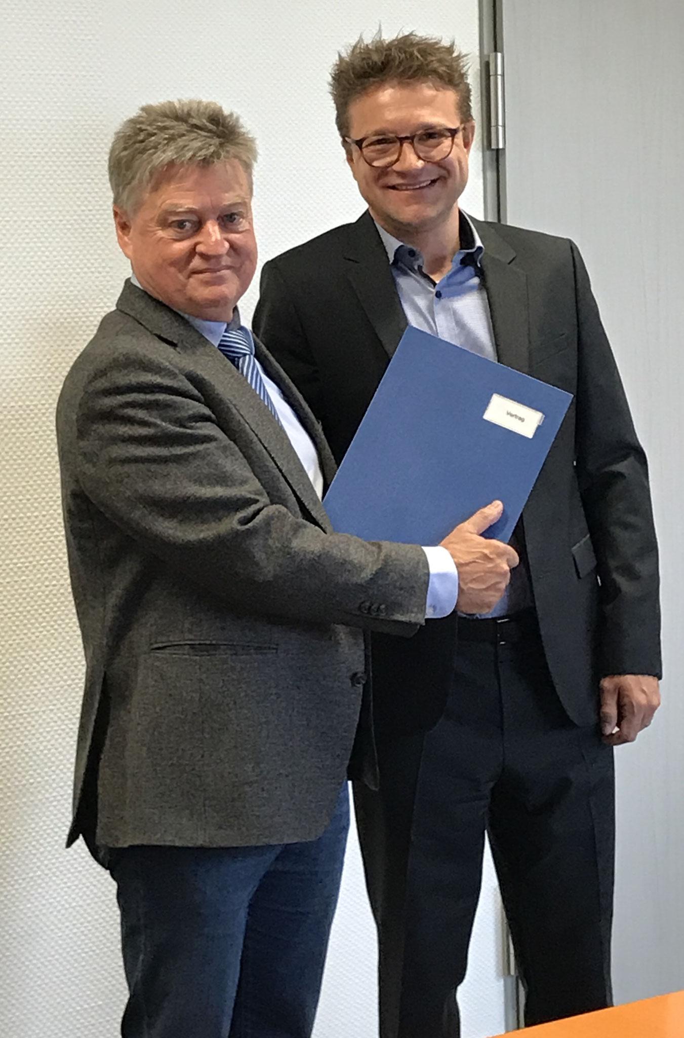 nach der Unterzeichnung der Kooperationsvereinbarung