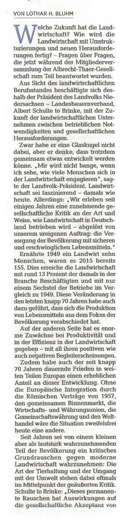 Cellesche Zeitung, Lothar H. Bluhm, 01.06.18