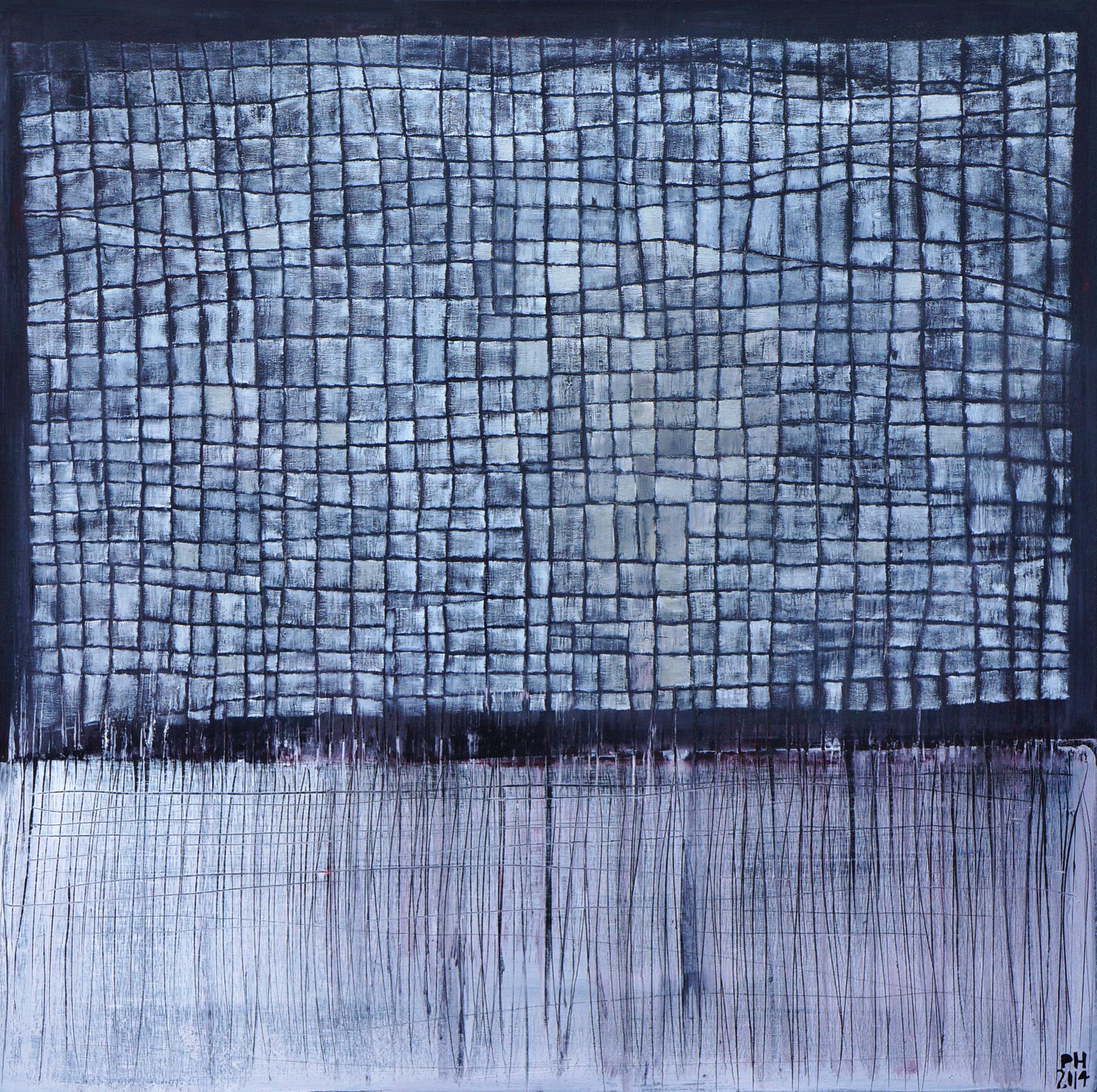 No. 52 - Mischtechnik Acryl auf Leinwand 100x100 cm (2014)