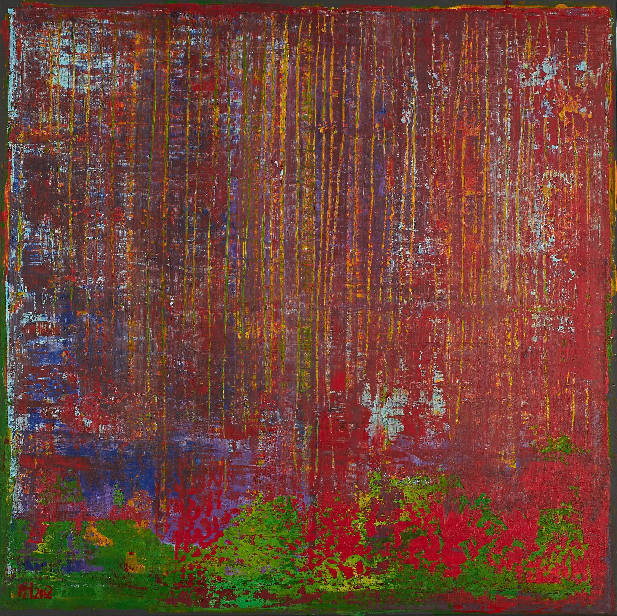 No. 26 - Mischtechnik Acryl auf Leinwand 100x100 cm (2012)