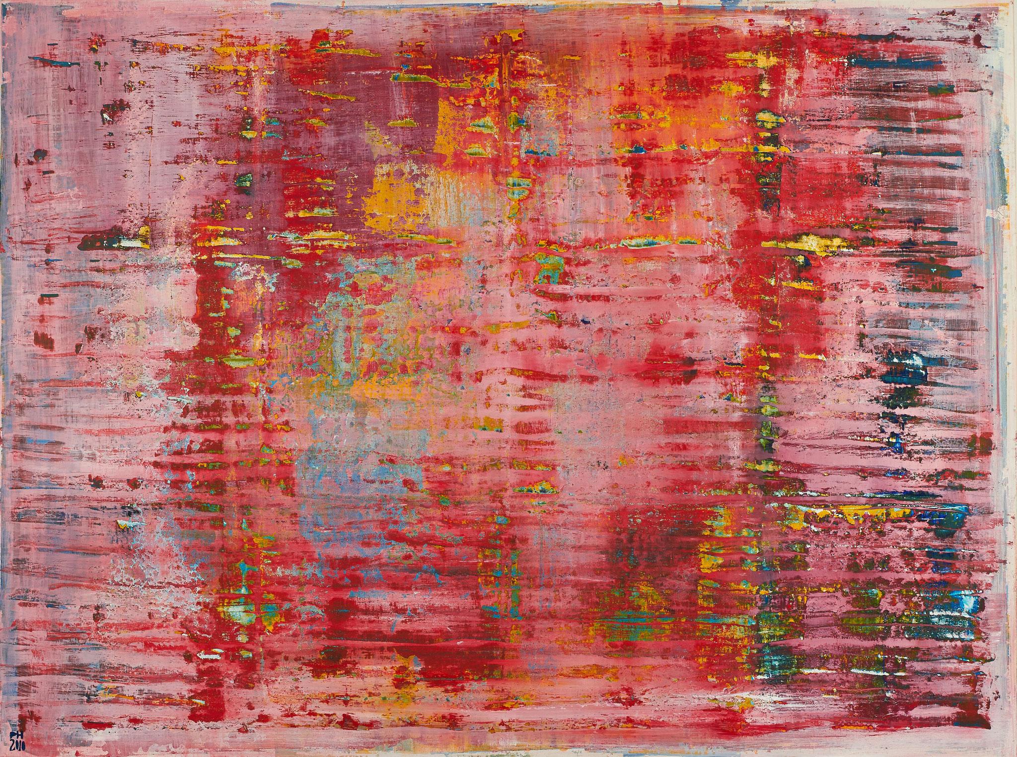 No. 13 - Mischtechnik Acryl auf Leinwand 160x120 cm (2010) - verkauft -