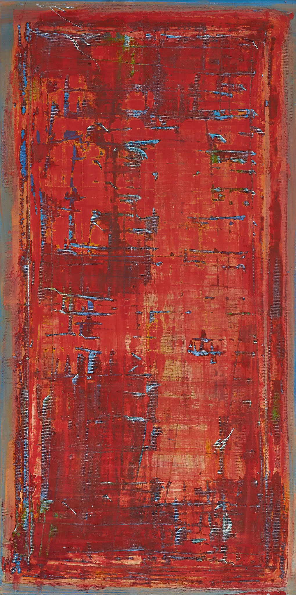 No. 06 - Mischtechnik Acryl auf Leinwand 40x80 cm (2009)