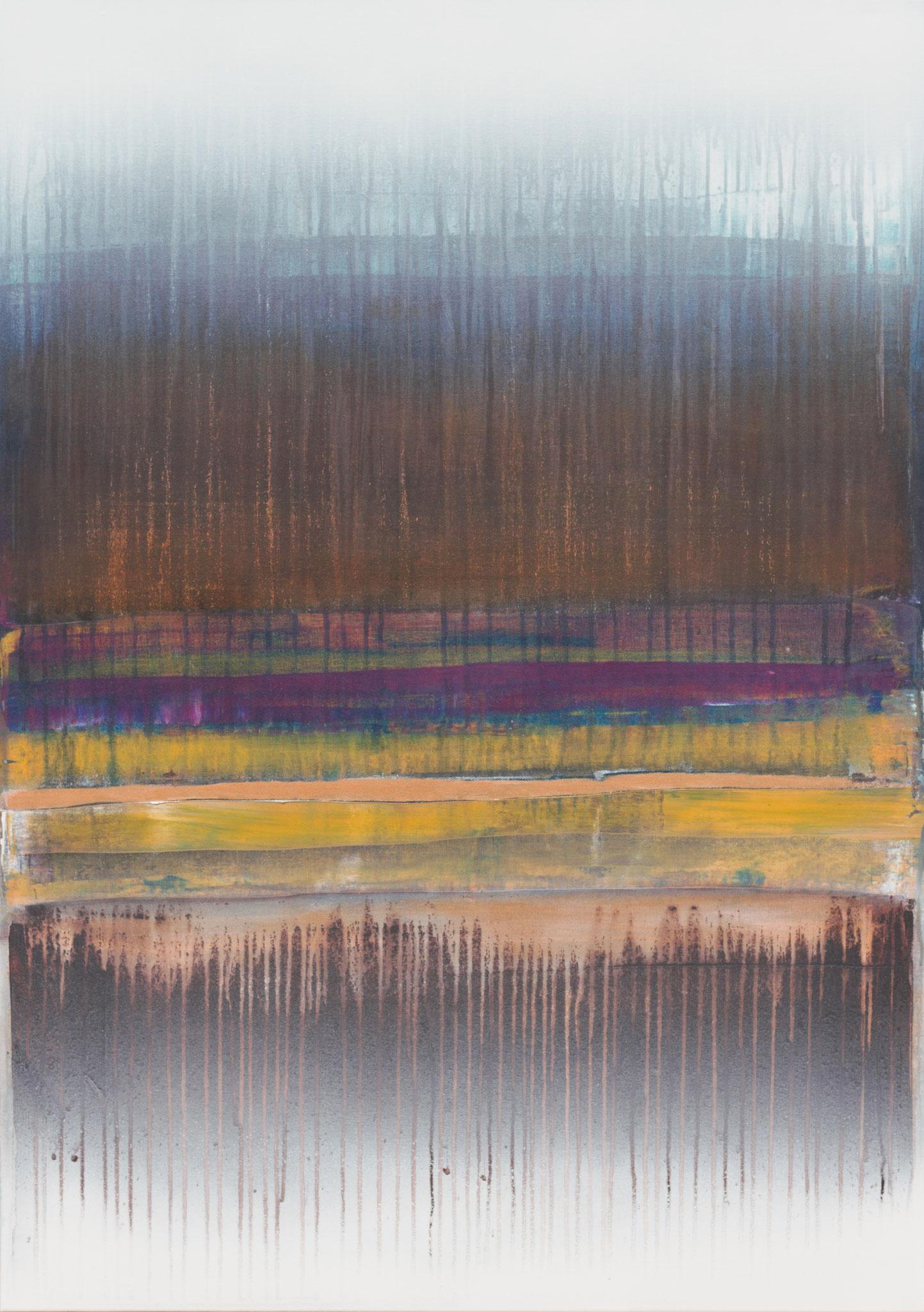 No. 149 Mischtechnik Acryl auf Leinwand 100x70x4 cm (2018)