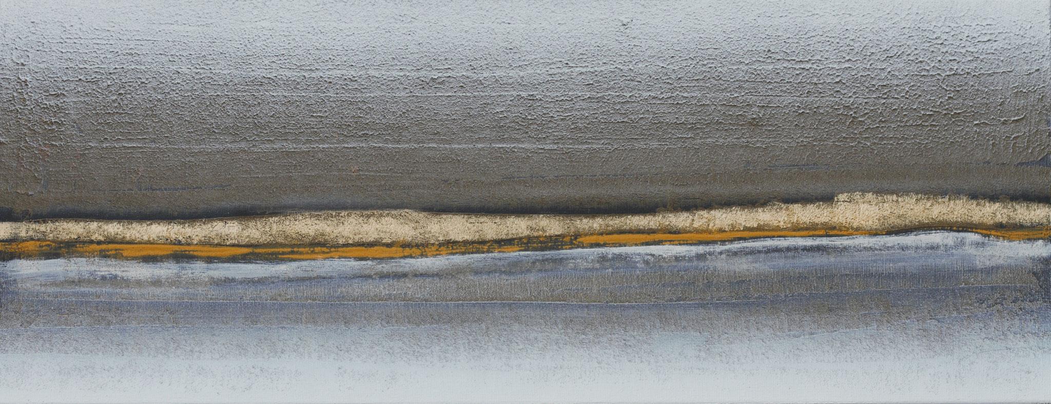 No. 139 Mischtechnik Acryl auf Leinwand 20x50x4 cm (2018)
