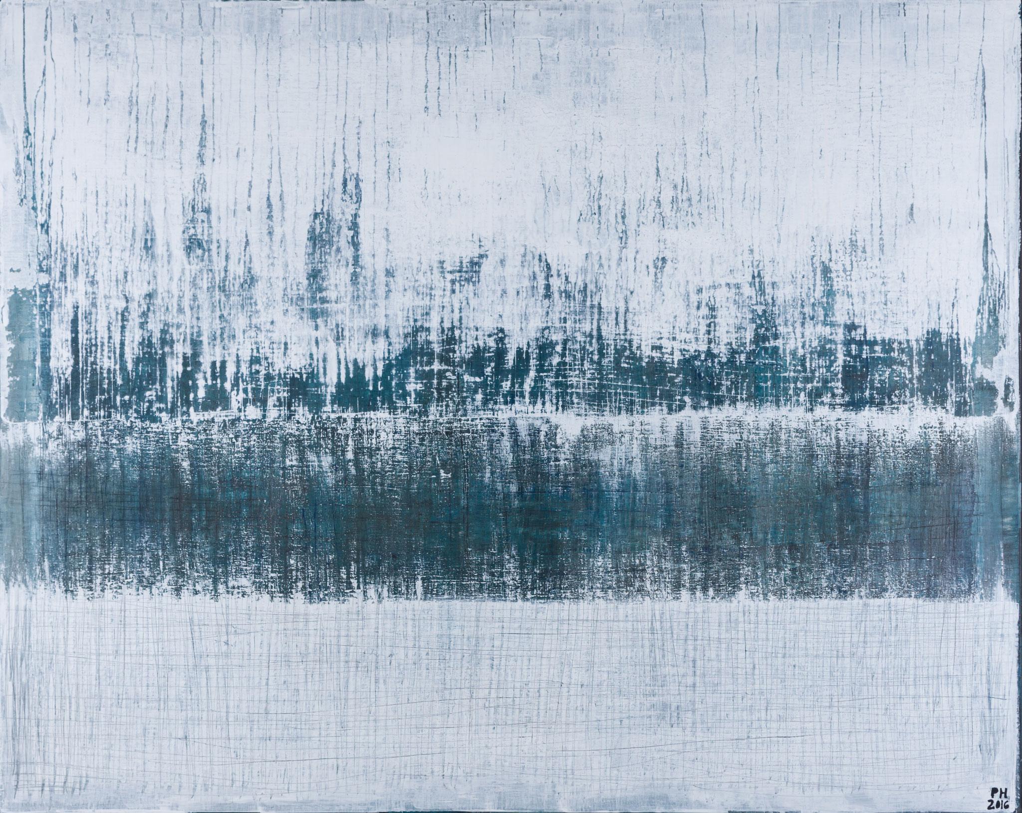 No. 78 - Mischtechnik Acryl auf Leinwand 150x120 cm (2016)