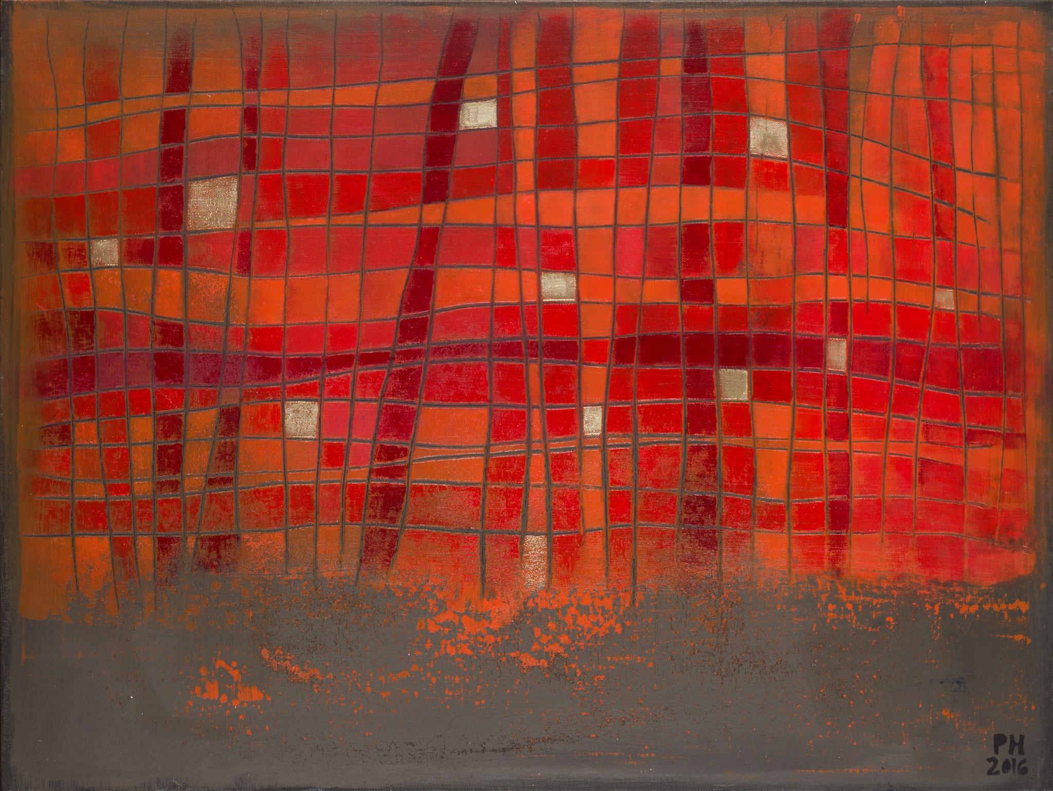 No. 54 - Mischtechnik Acryl auf Leinwand 60x80 cm (2016)