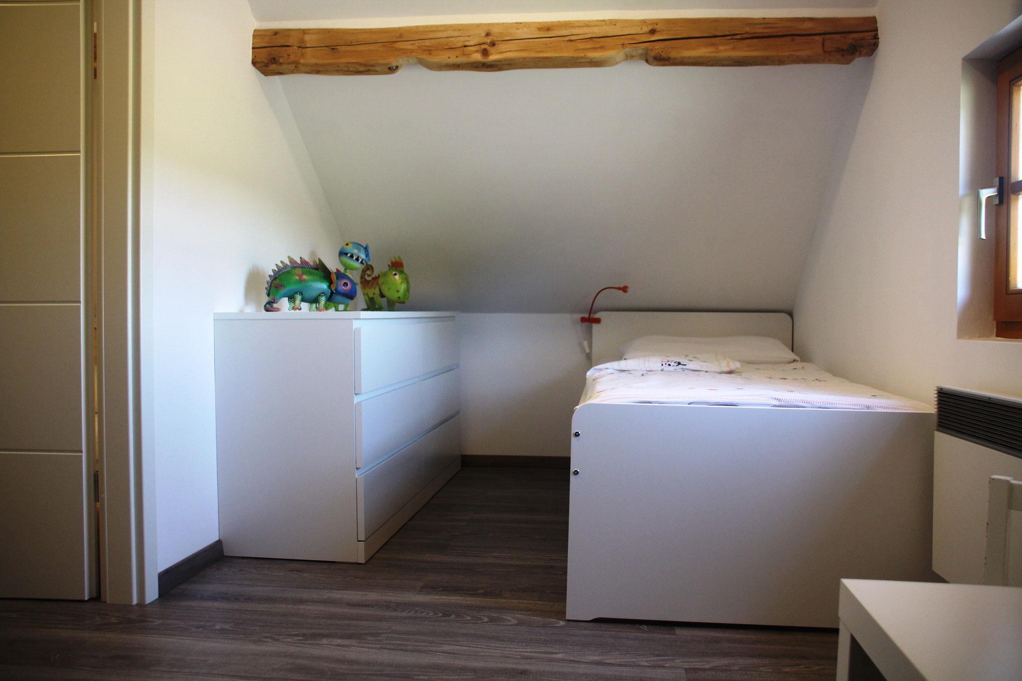 2. Schlafzimmer ©KnallerbsenHof